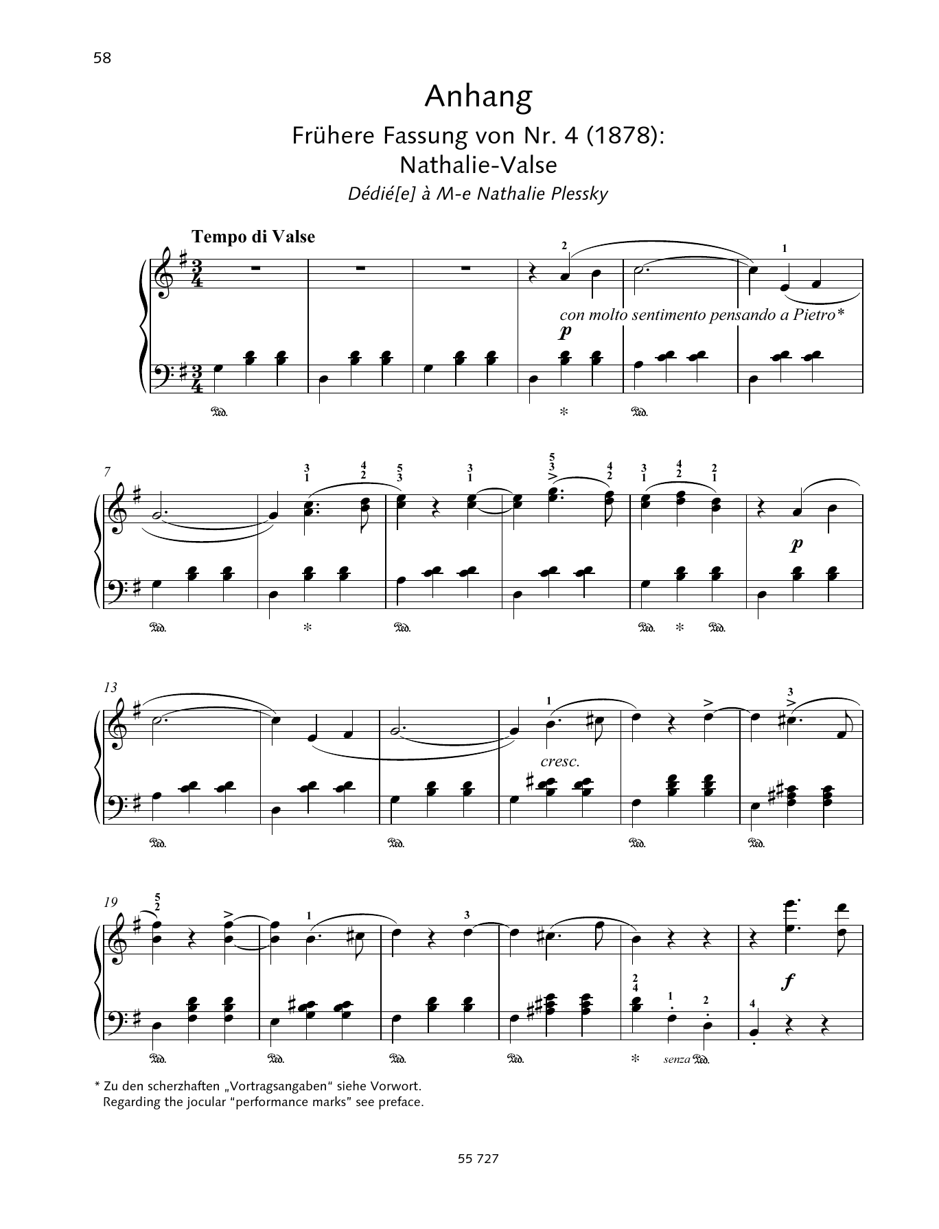 Natha-Valse Sheet Music