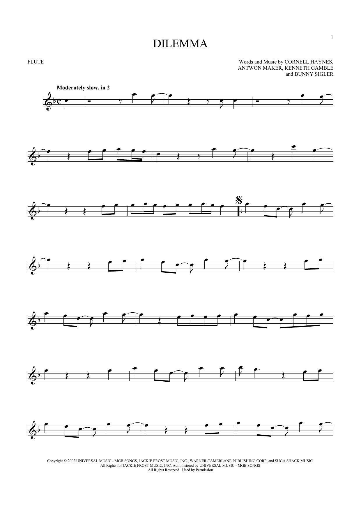 Dilemma (Flute Solo)