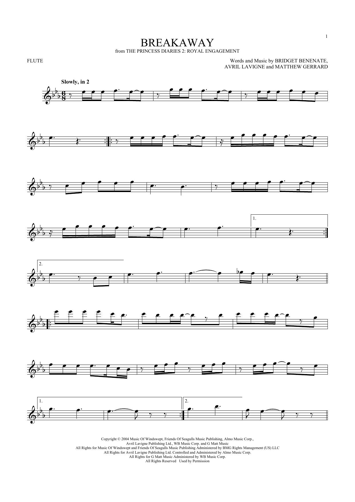 Breakaway (Flute Solo)