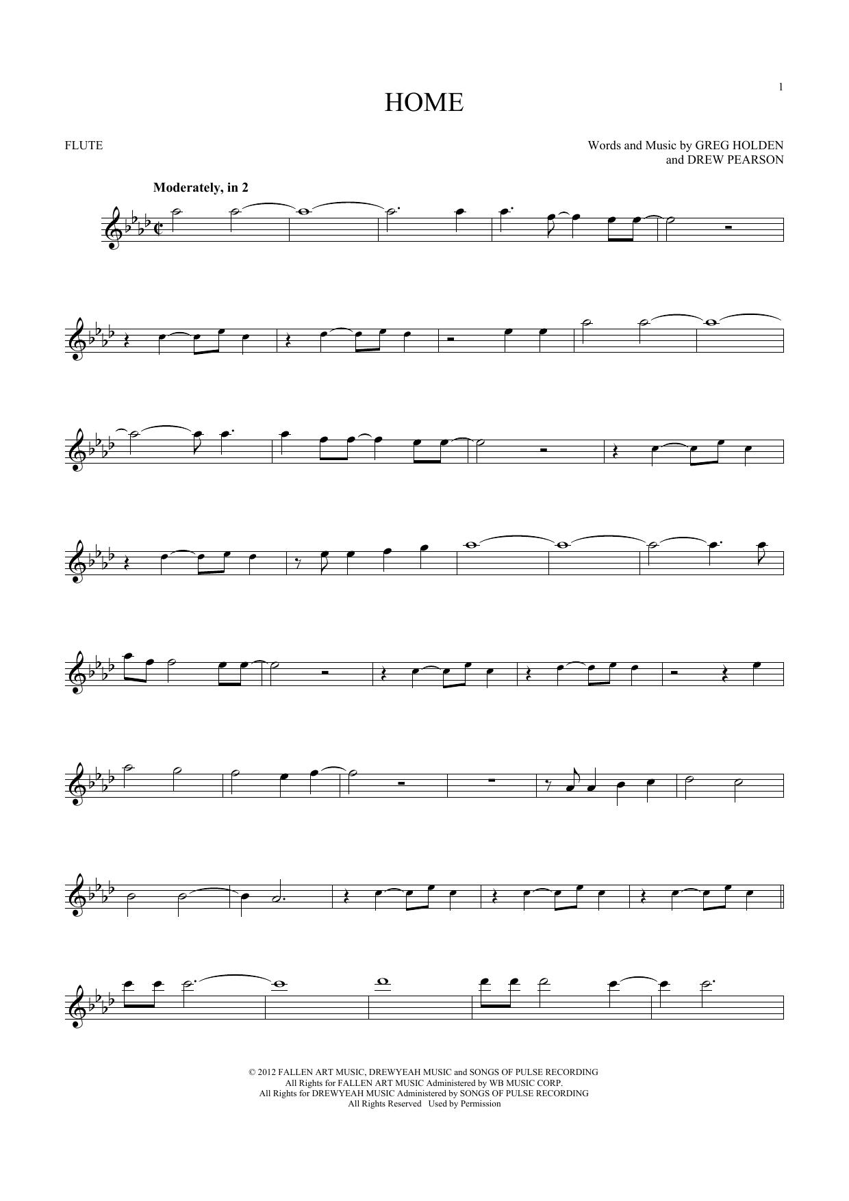 Home (Flute Solo)