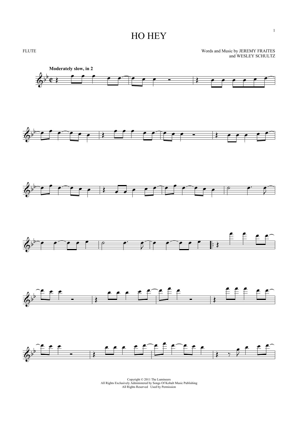 Ho Hey (Flute Solo)