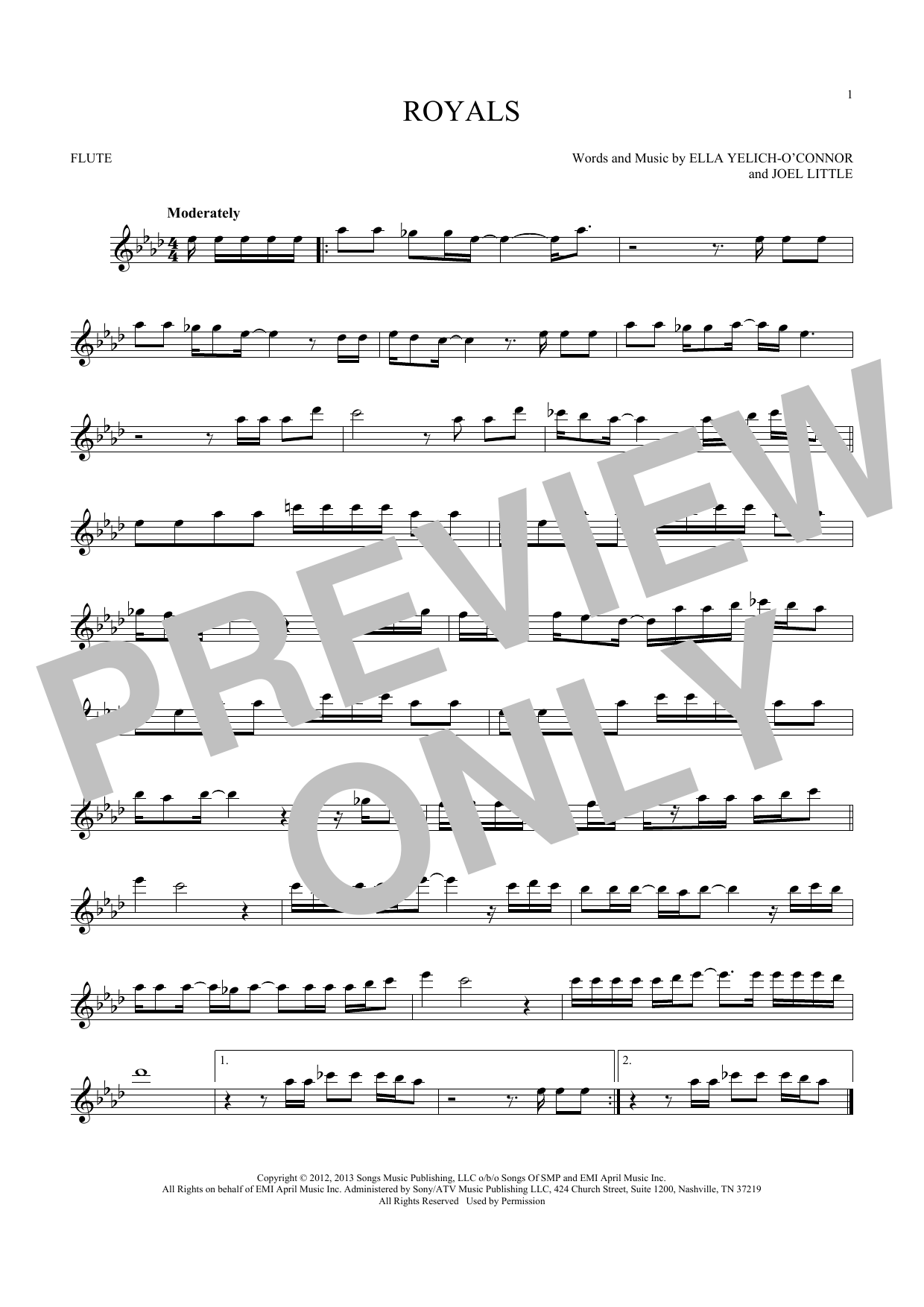 Royals (Flute Solo)