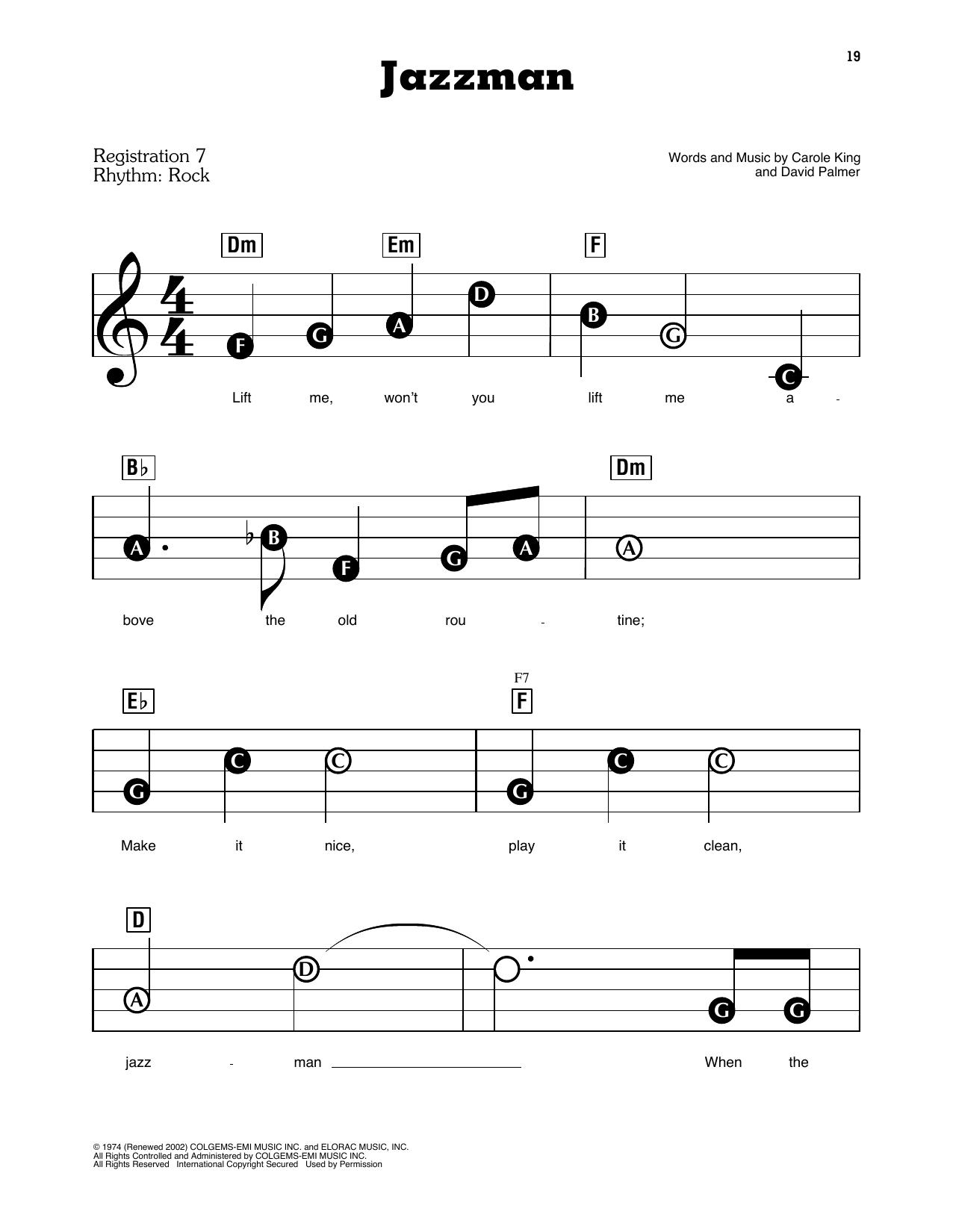 Jazzman (E-Z Play Today)