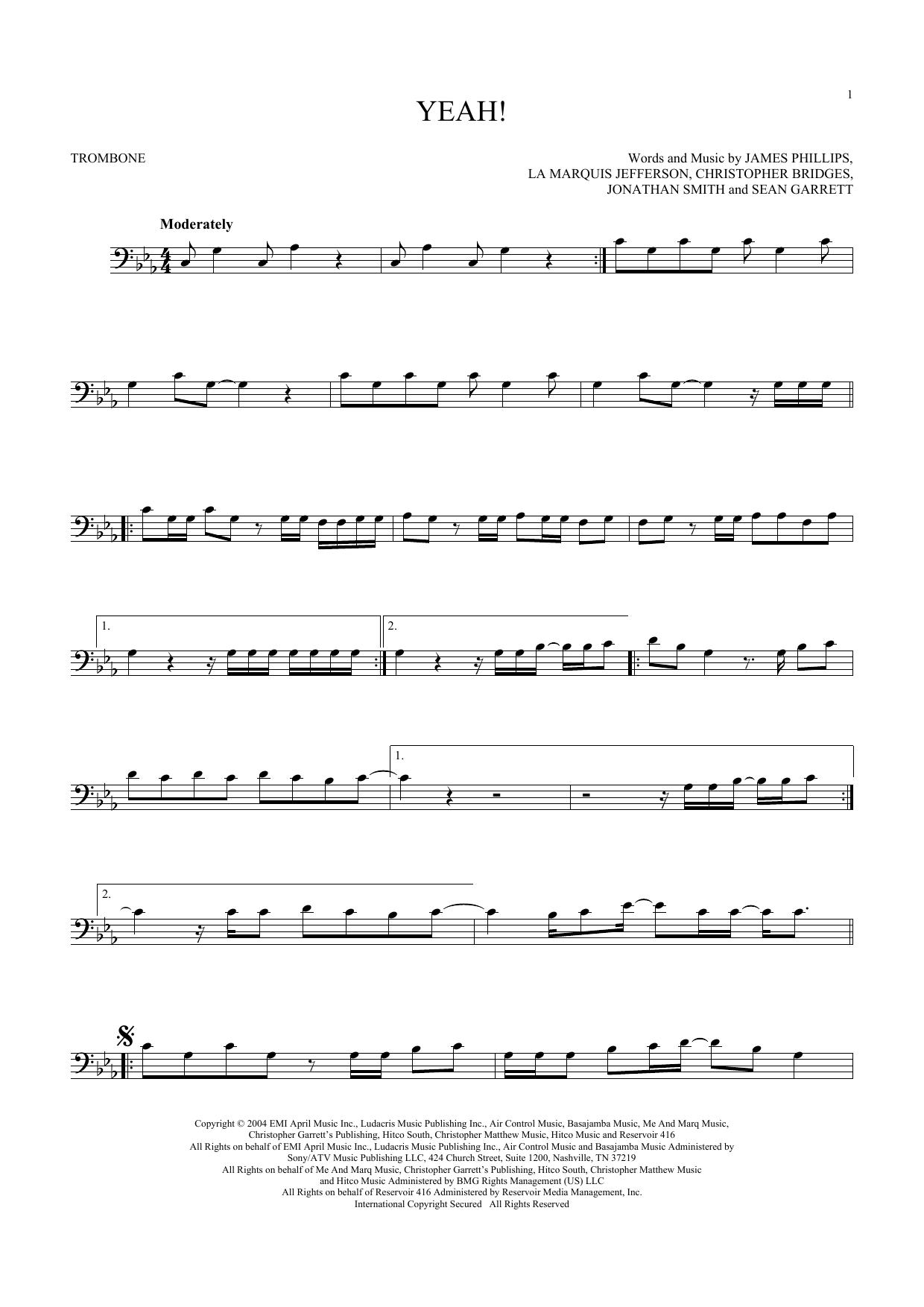 Yeah! (Trombone Solo)
