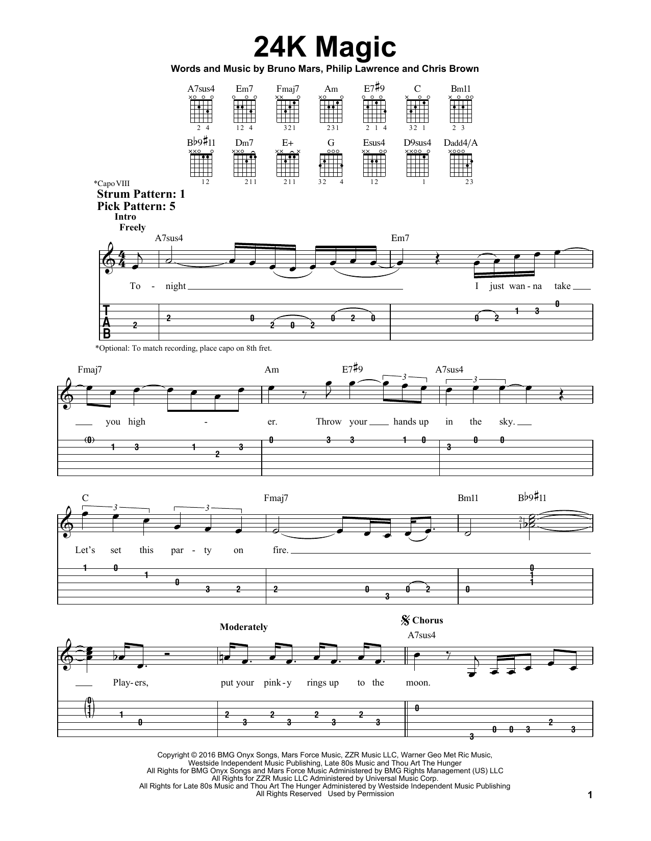 locked out of heaven sheet music pdf vocal