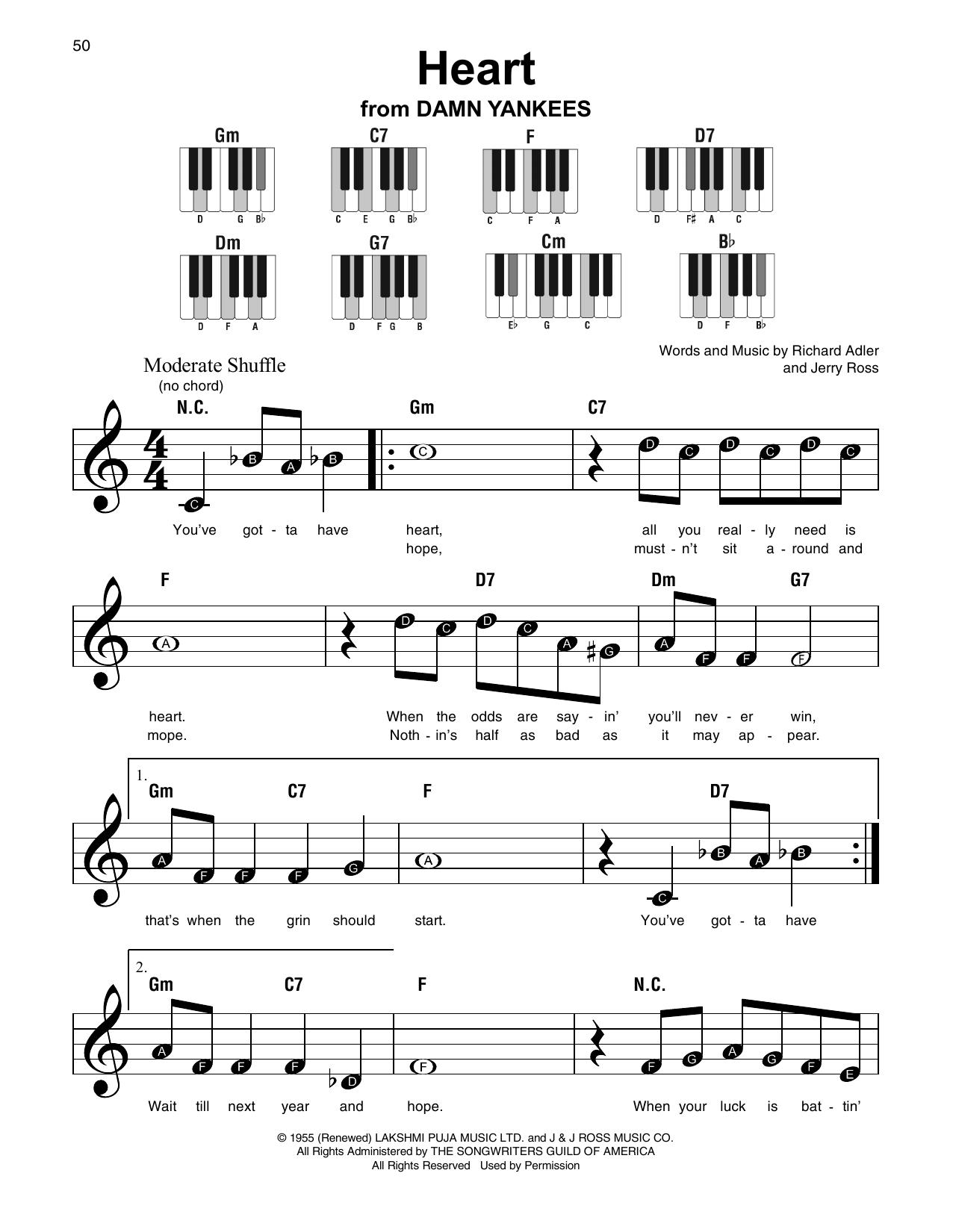 Heart (Super Easy Piano)