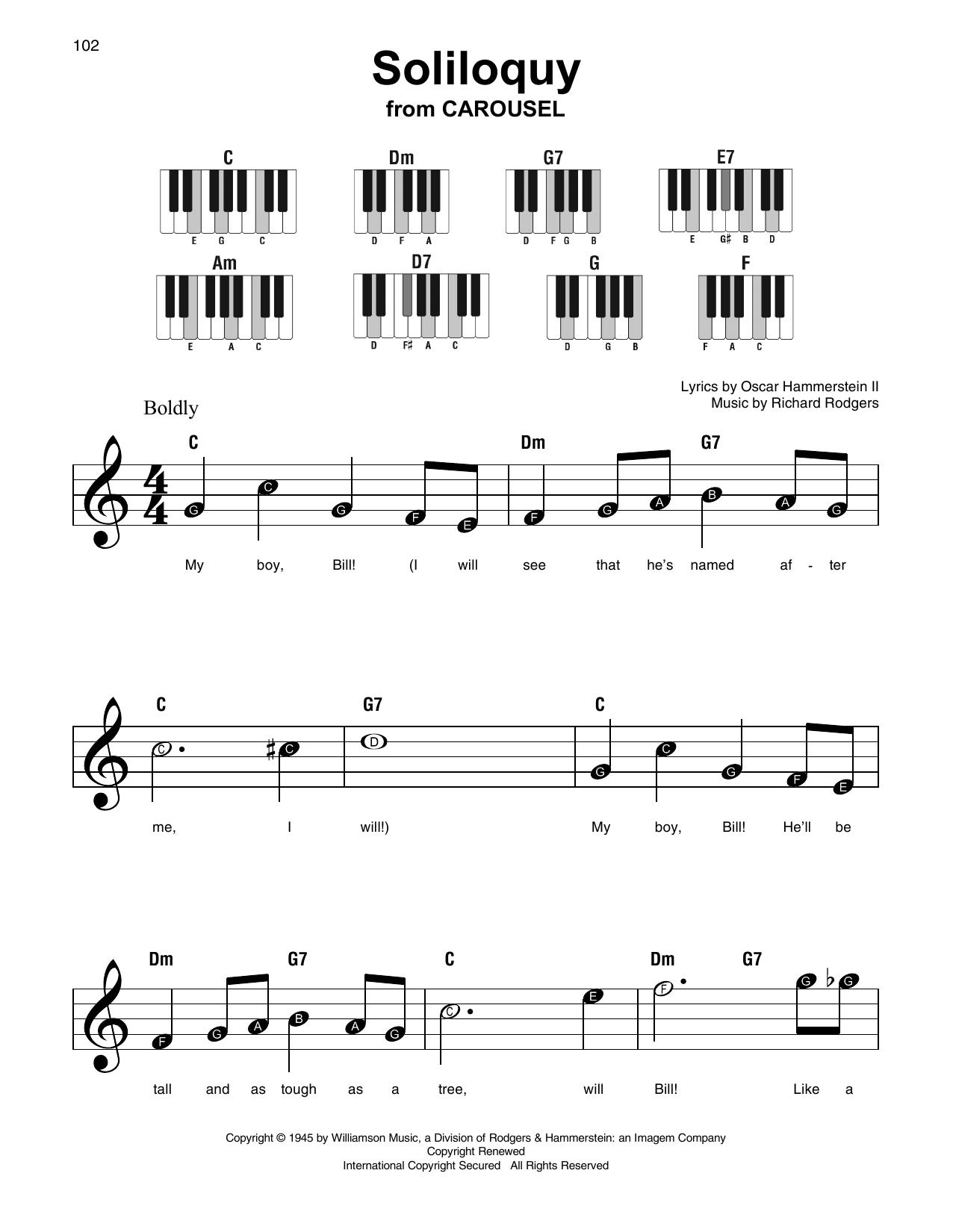 Soliloquy (Super Easy Piano)