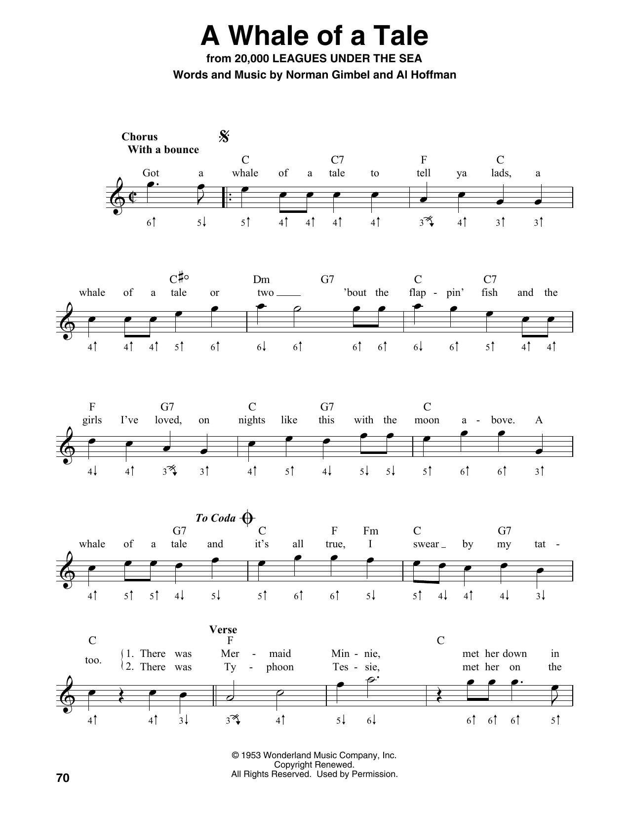 A Whale Of A Tale (Harmonica)
