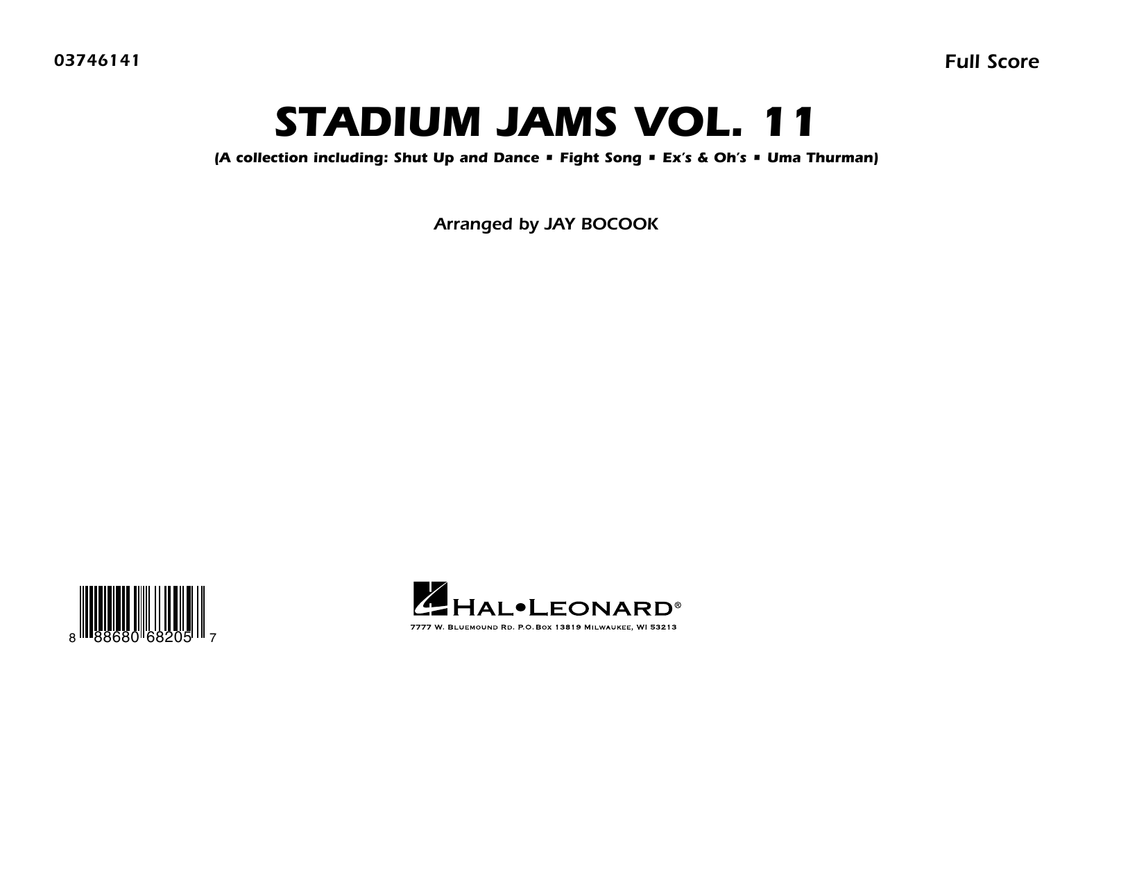 Stadium Jams Volume 11 - Conductor Score (Full Score) Digitale Noten