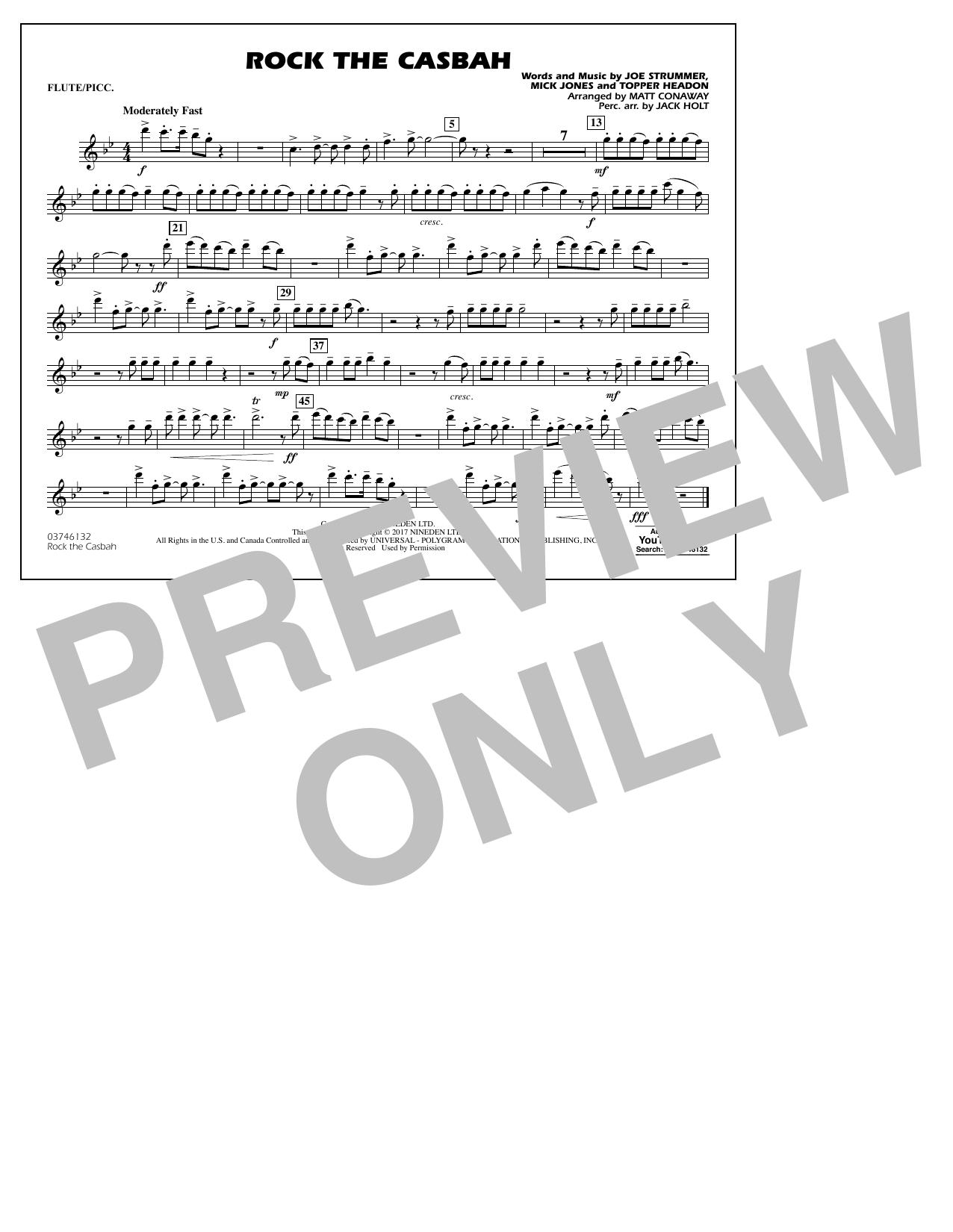 Rock the Casbah - Flute/Piccolo Sheet Music