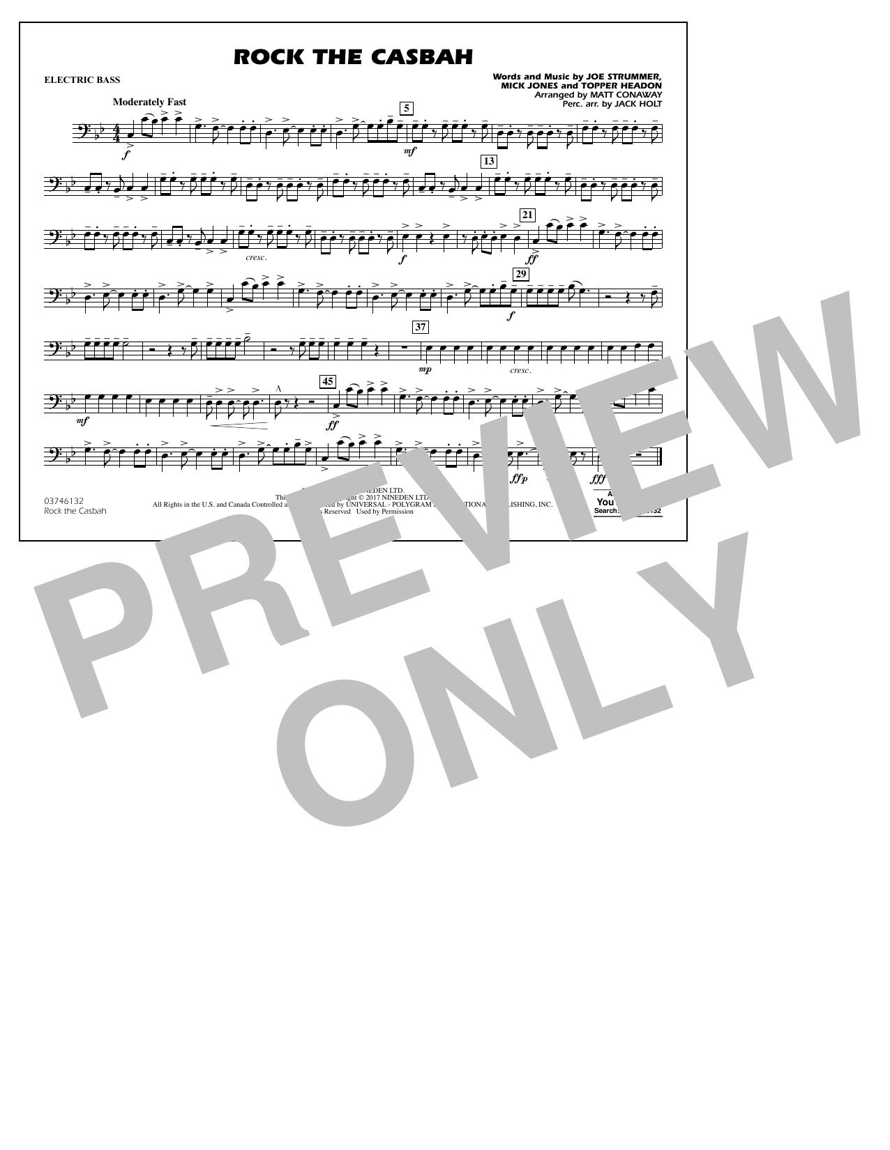 Rock the Casbah - Electric Bass Sheet Music