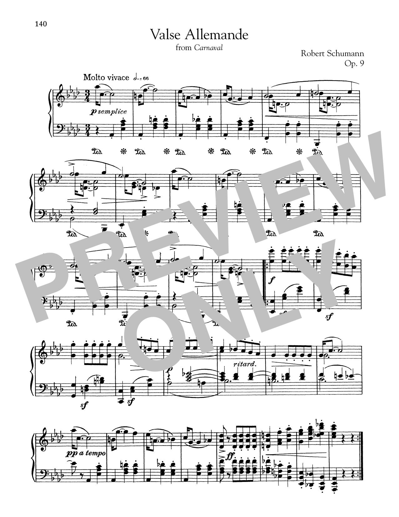 Valse Allemande (Piano Solo)