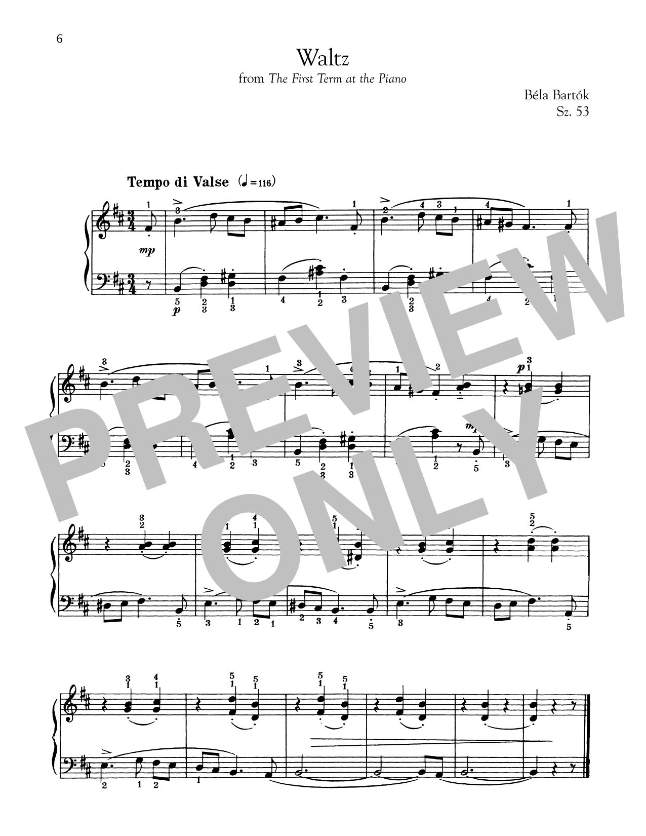 Waltz (Piano Solo)