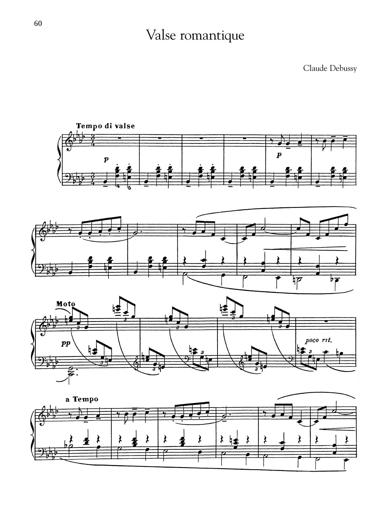 Valse Romantique (Piano Solo)