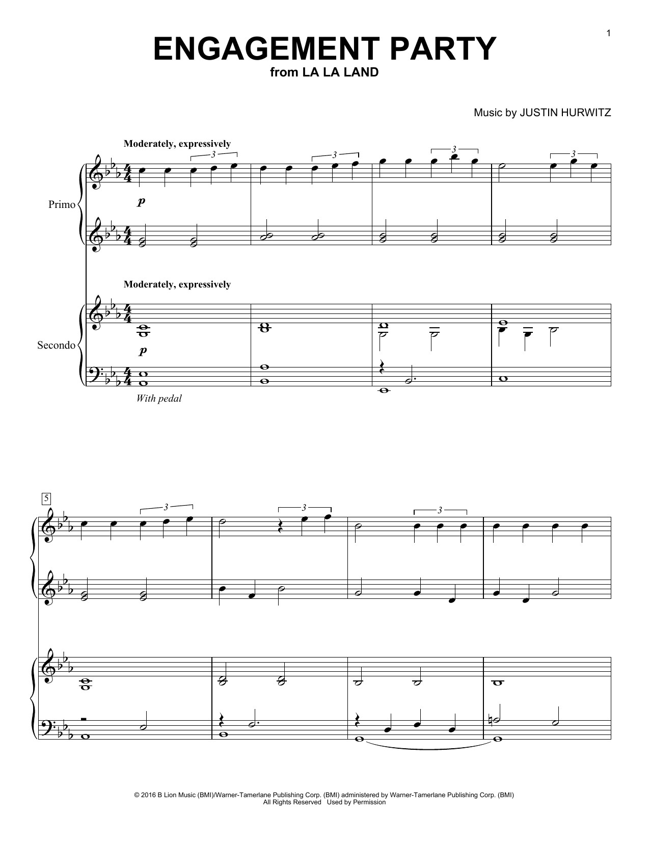 Engagement Party (Piano Duet)
