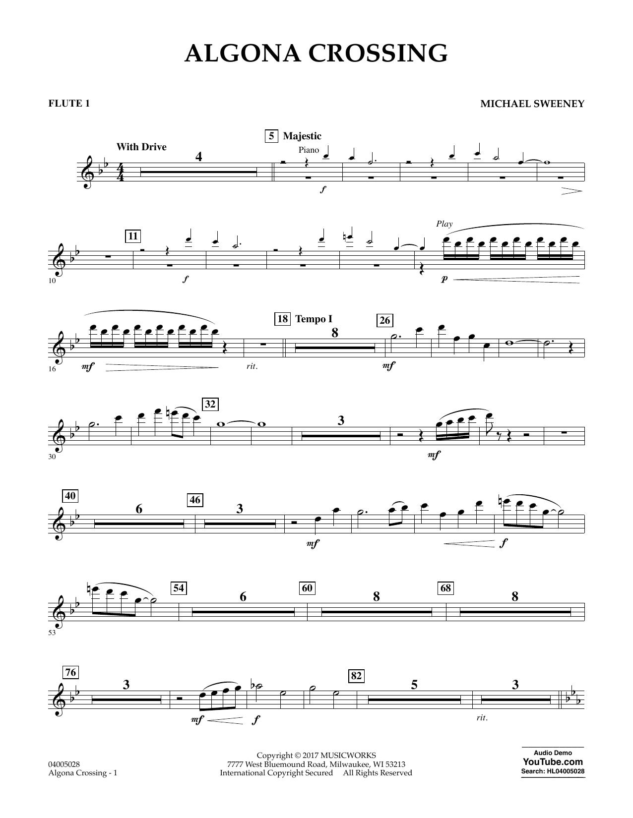 Algona Crossing - Flute 1 Sheet Music