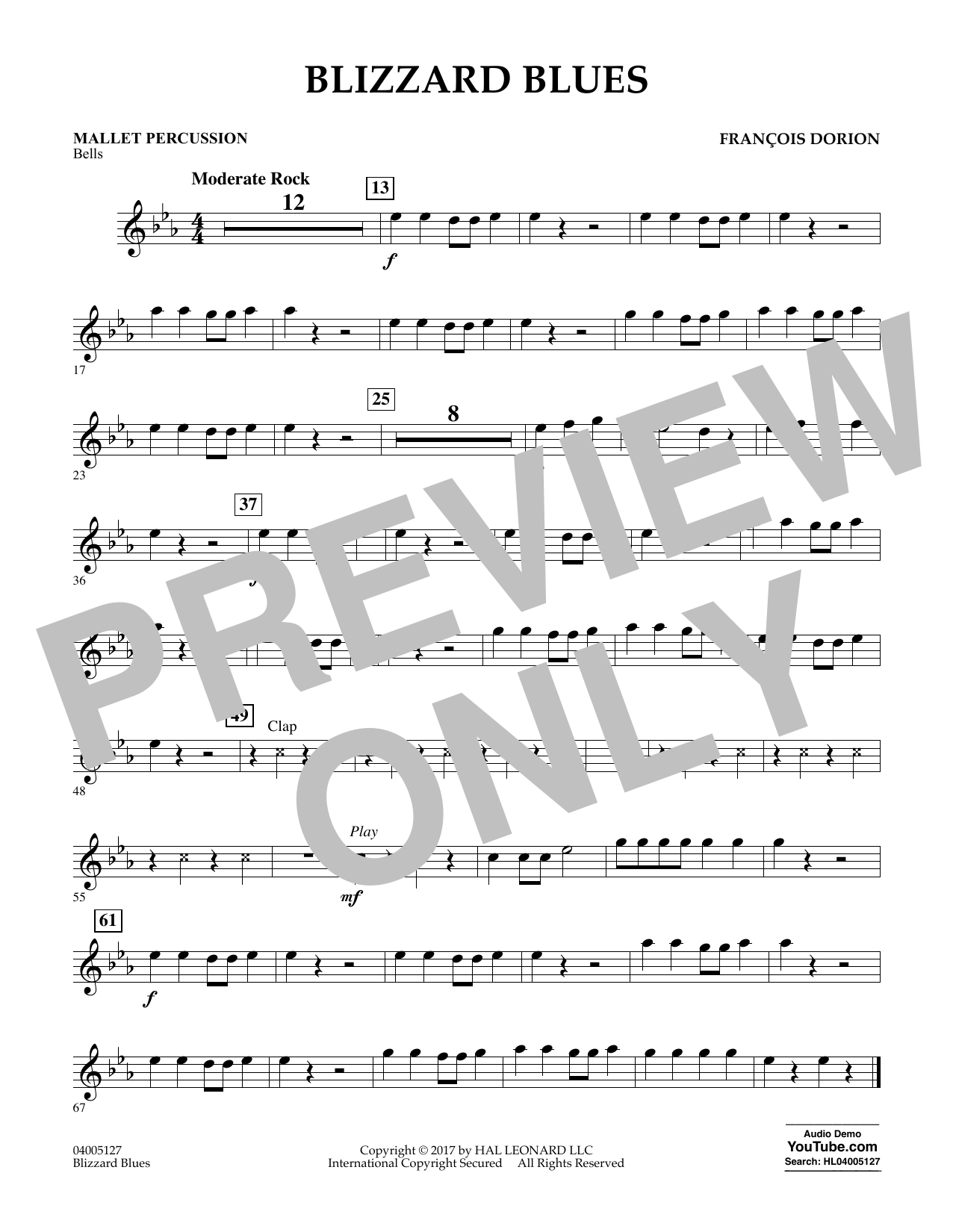 Blizzard Blues - Mallet Percussion (Concert Band)