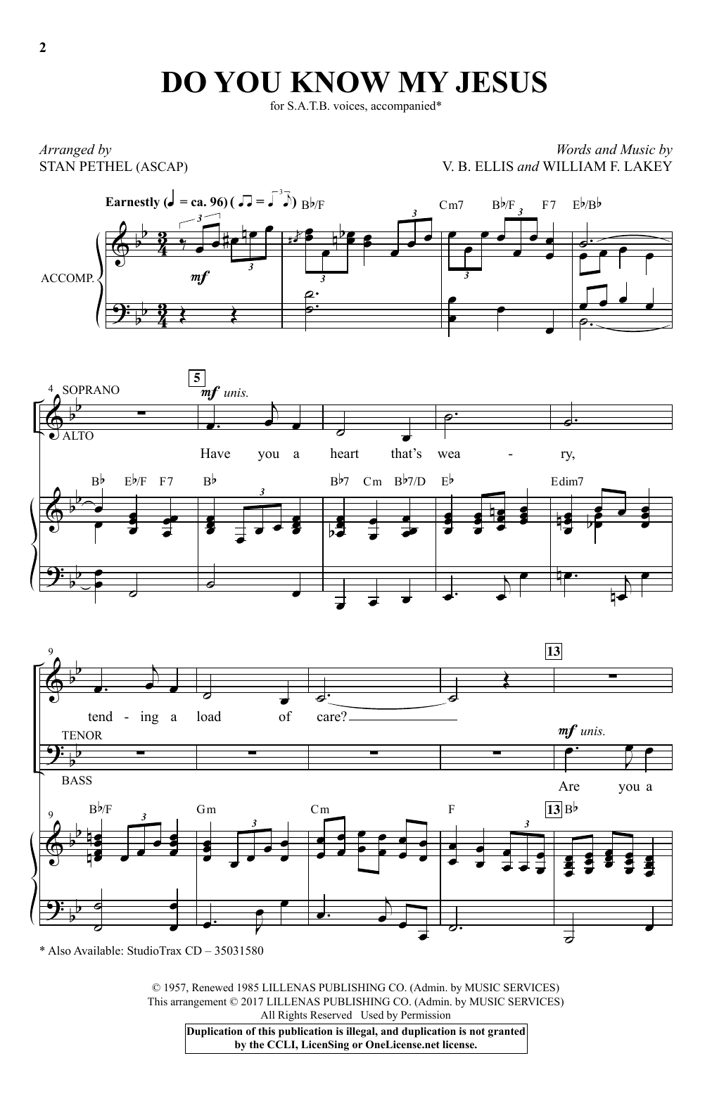Do you know my jesus sheet music direct do you know my jesus 215 hexwebz Choice Image