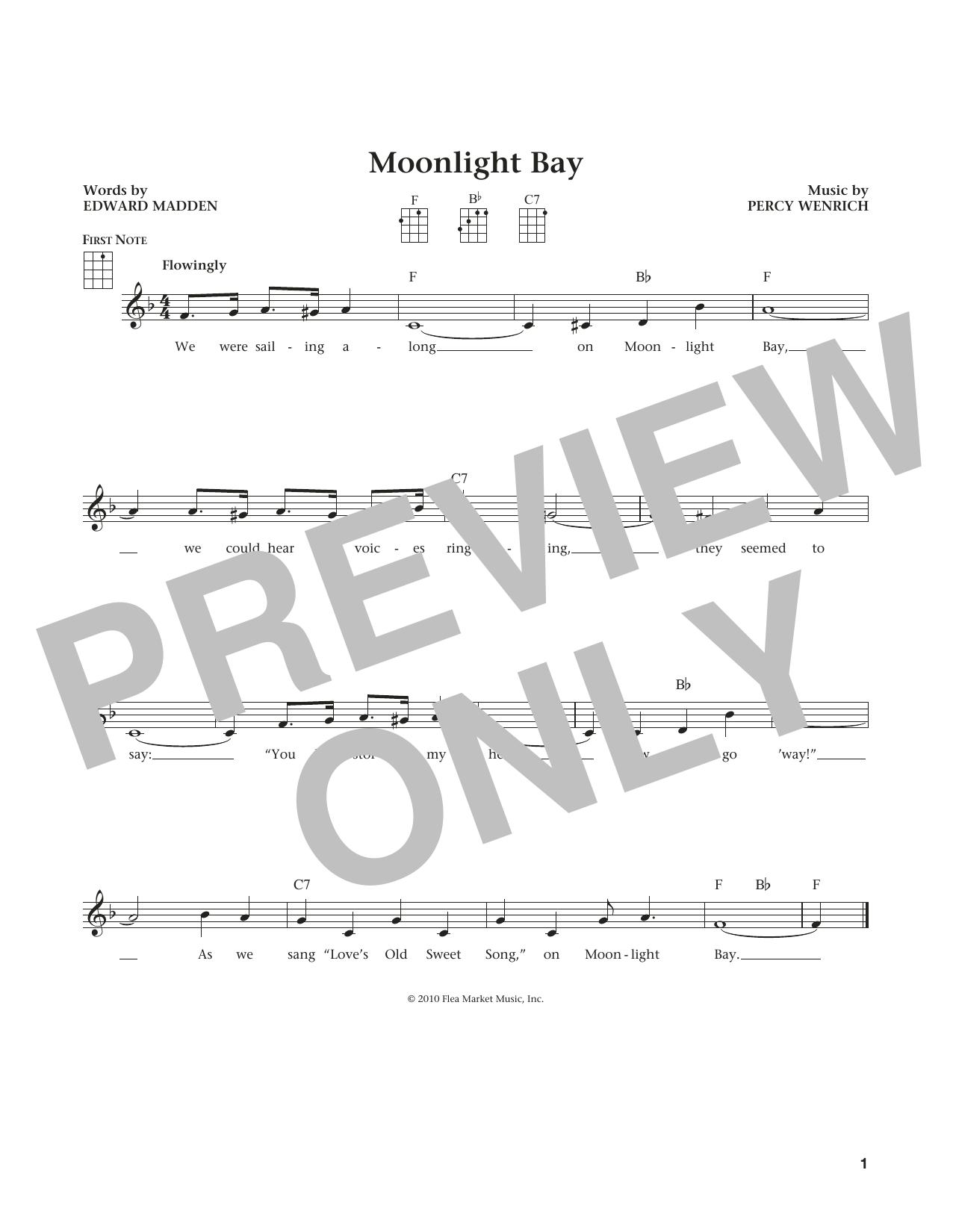 Moonlight Bay (from The Daily Ukulele) (arr. Liz and Jim Beloff) (Ukulele)