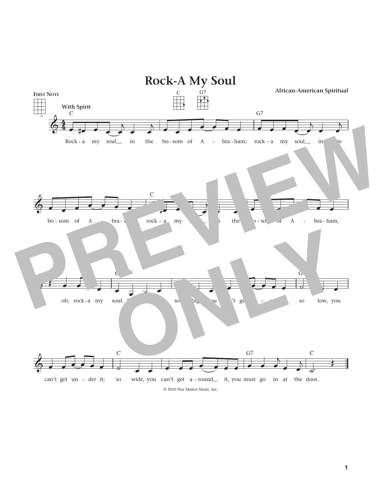 Rock-A-My Soul (from The Daily Ukulele) (arr. Liz and Jim Beloff) (Ukulele)