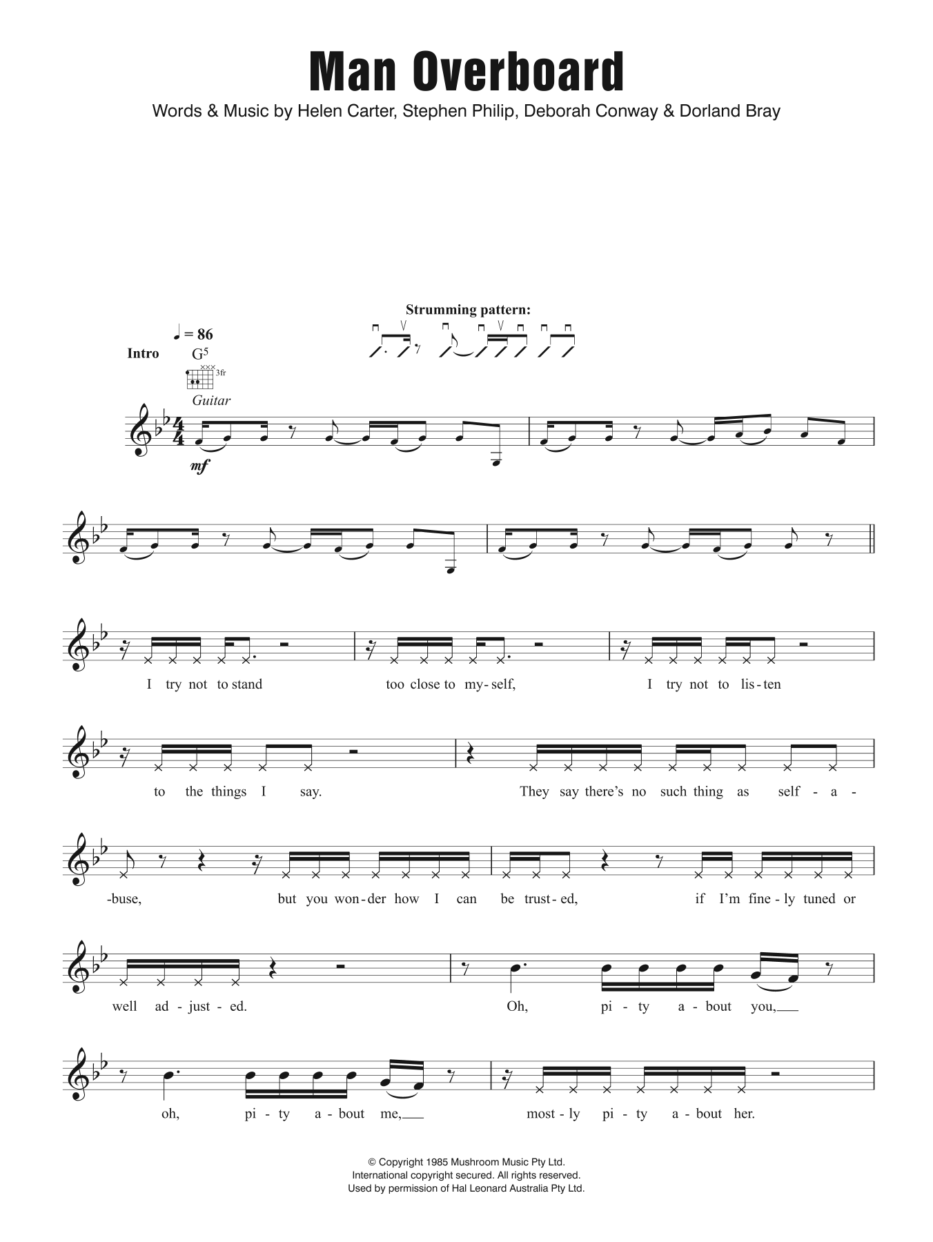 Man Overboard Do Re Mi Melody Line Lyrics Chords