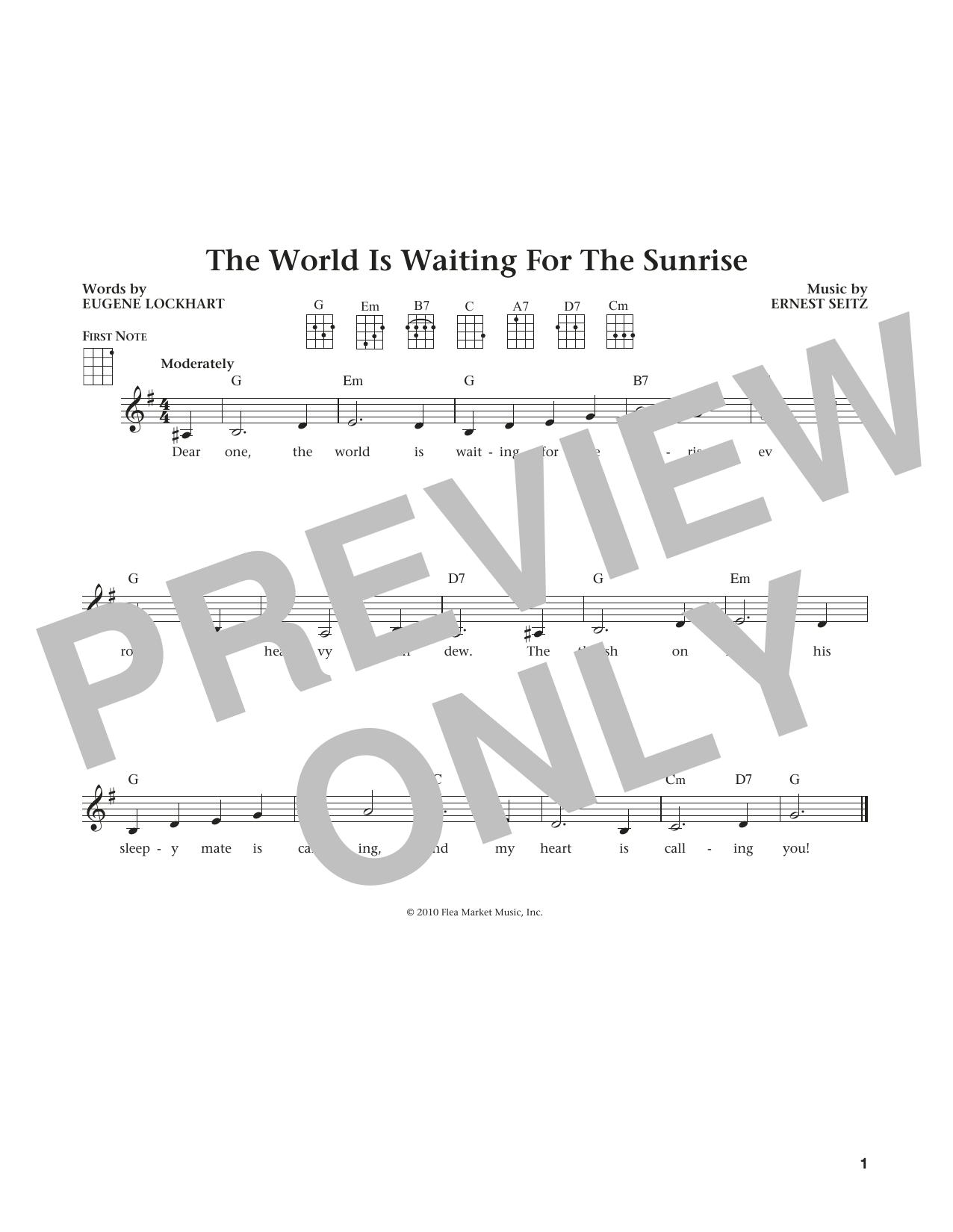 The World Is Waiting For The Sunrise (from The Daily Ukulele) (arr. Liz and Jim Beloff) (Ukulele)