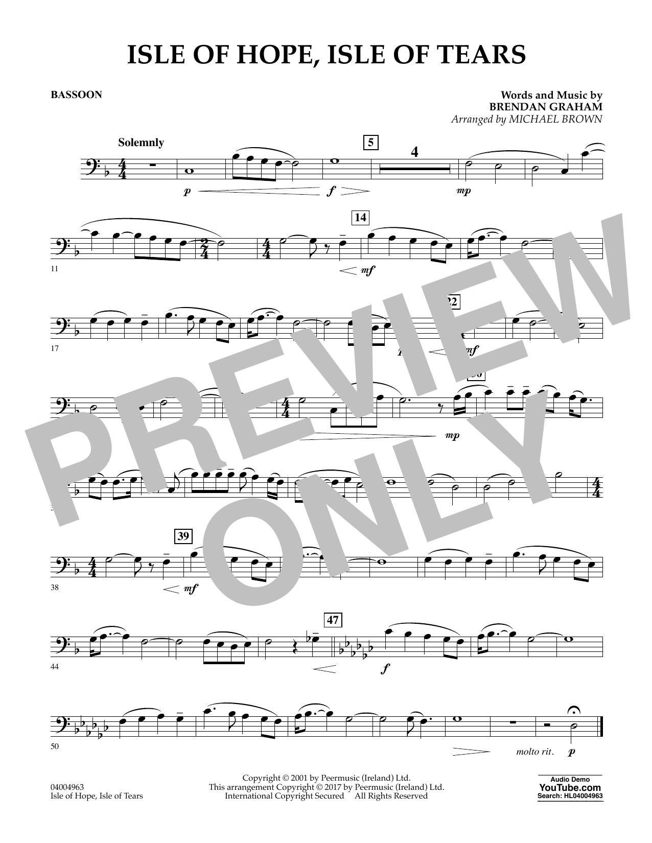 Isle of Hope, Isle of Tears - Bassoon (Concert Band)