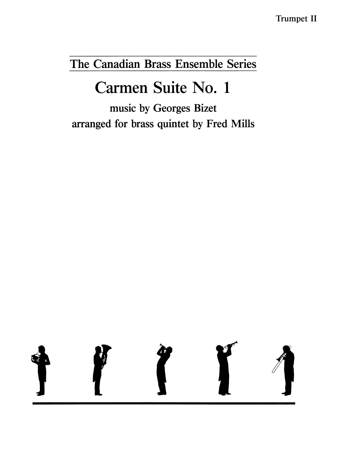 Carmen Suite No. 1 - Bb Trumpet 2 (Brass Quintet) Sheet Music