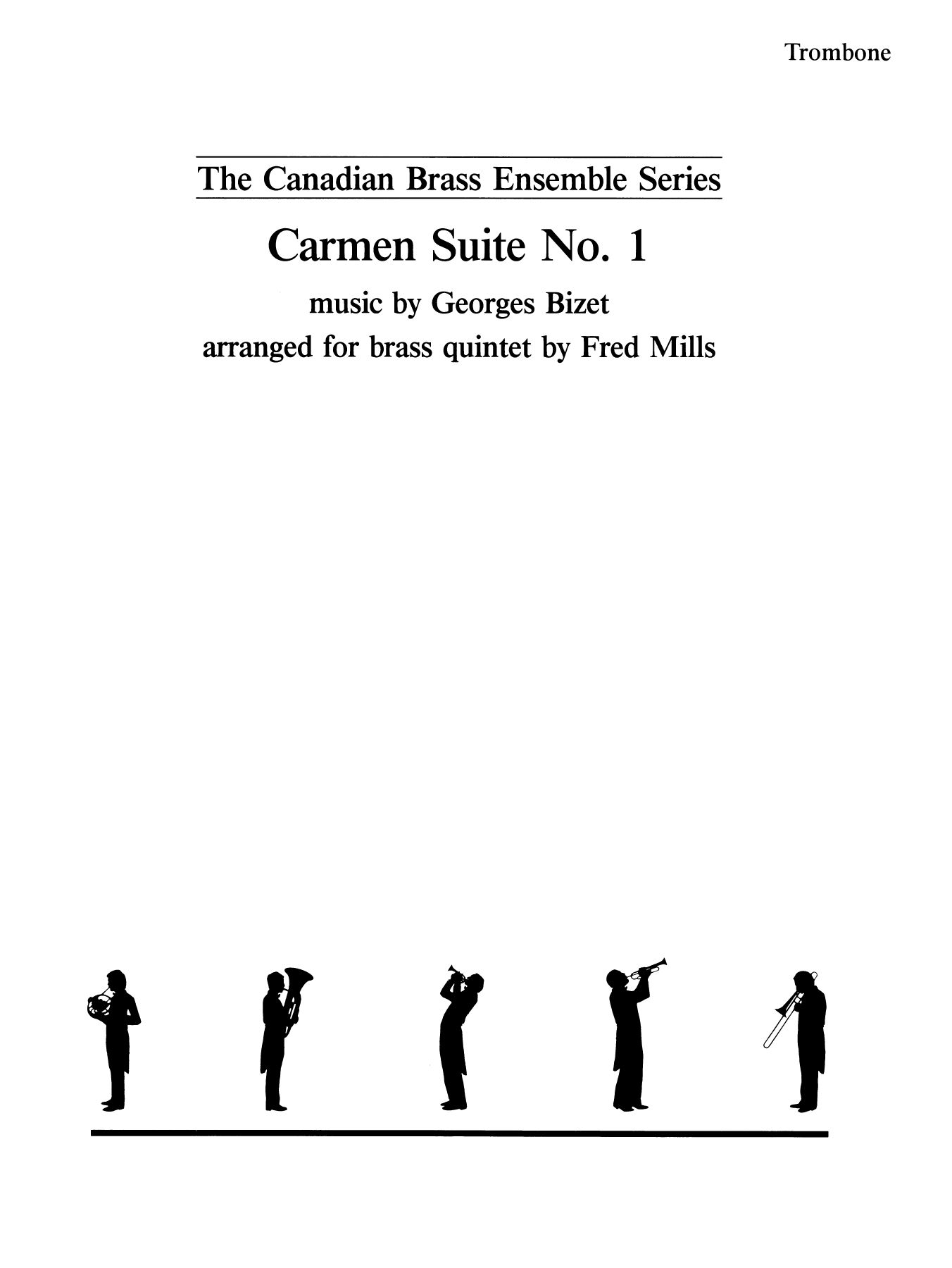 Carmen Suite No. 1 - Trombone (B.C.) Sheet Music