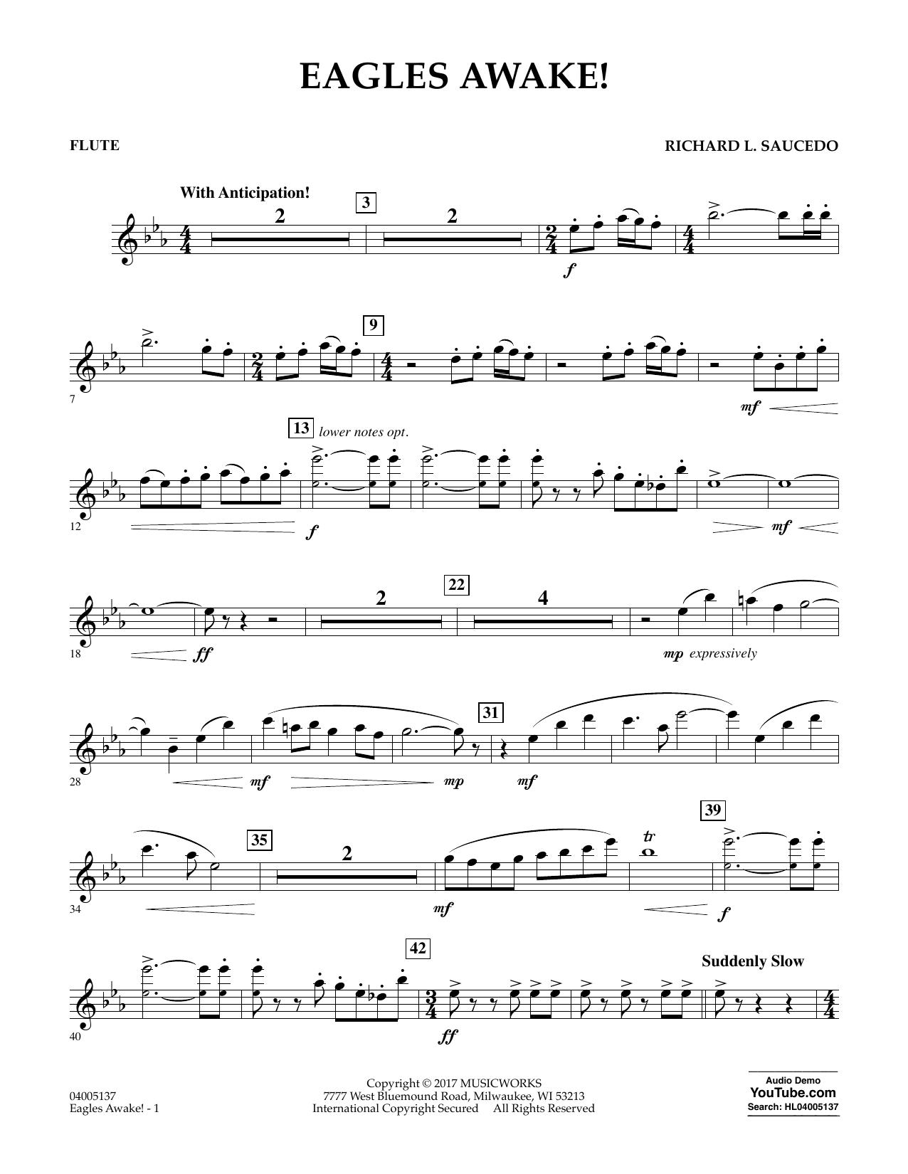 Eagles Awake! - Flute Sheet Music