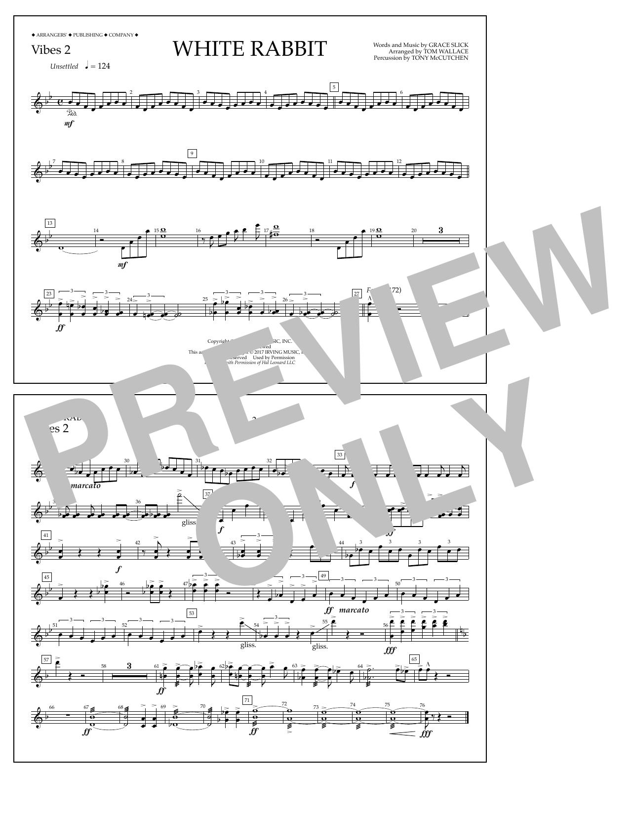 White Rabbit - Vibes 2 Sheet Music