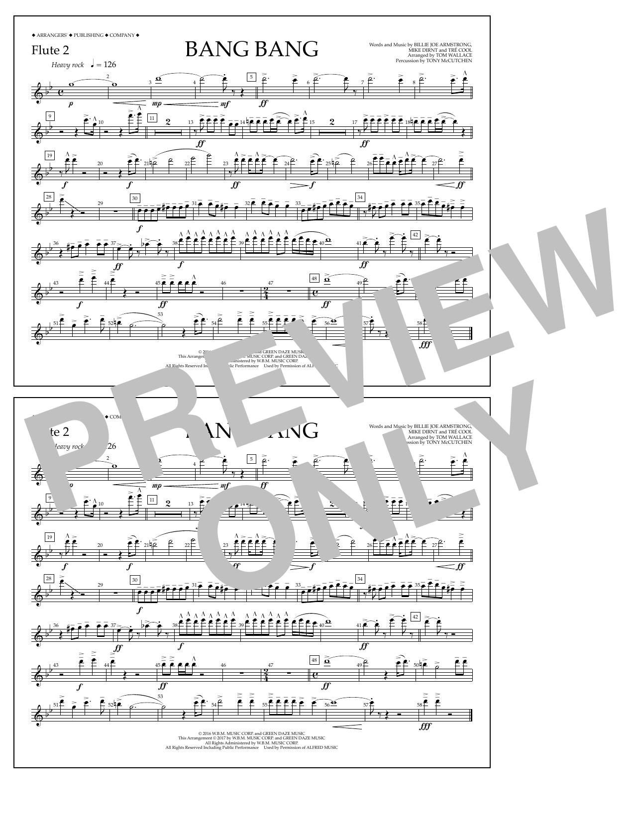 Bang Bang - Flute 2 Sheet Music