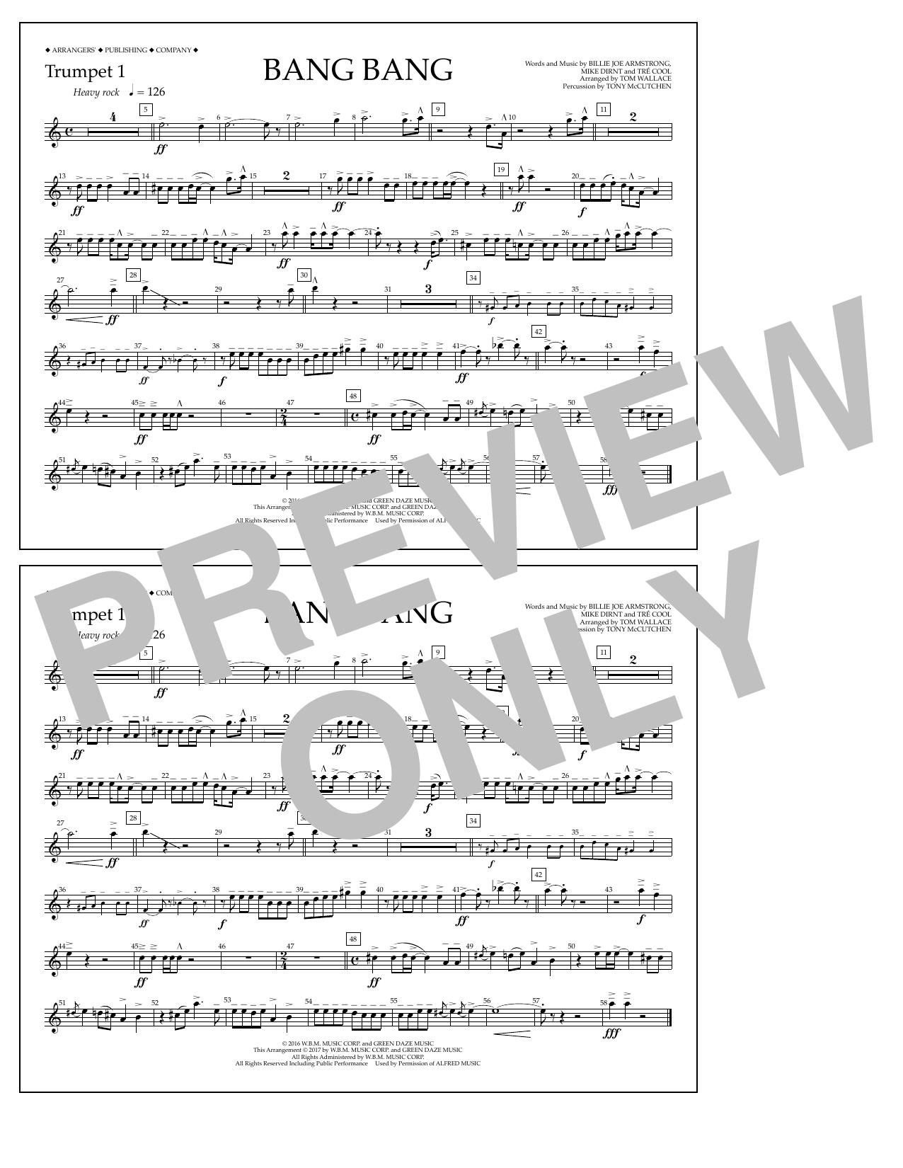 Bang Bang - Trumpet 1 Sheet Music