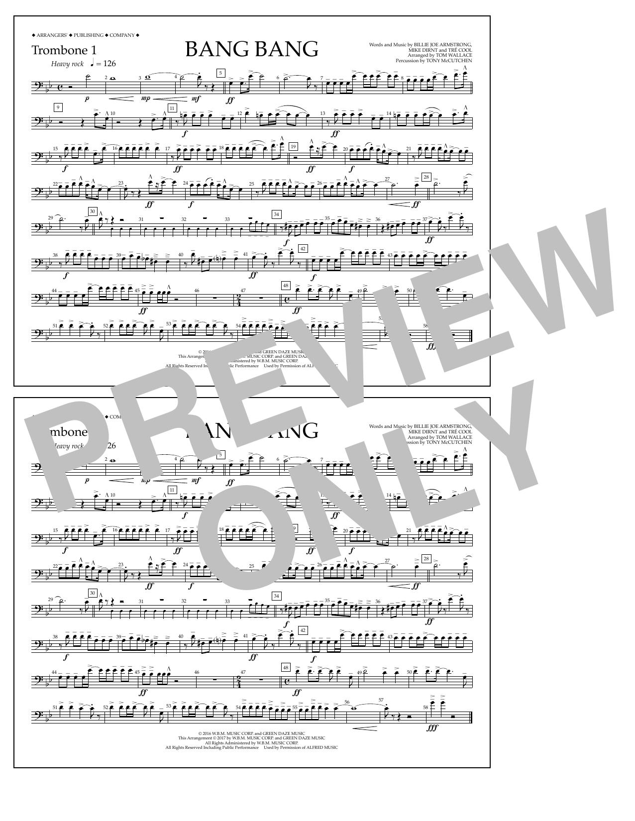Bang Bang - Trombone 1 Partituras Digitales