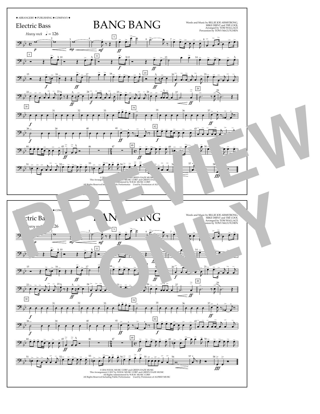 Bang Bang - Electric Bass Digitale Noten