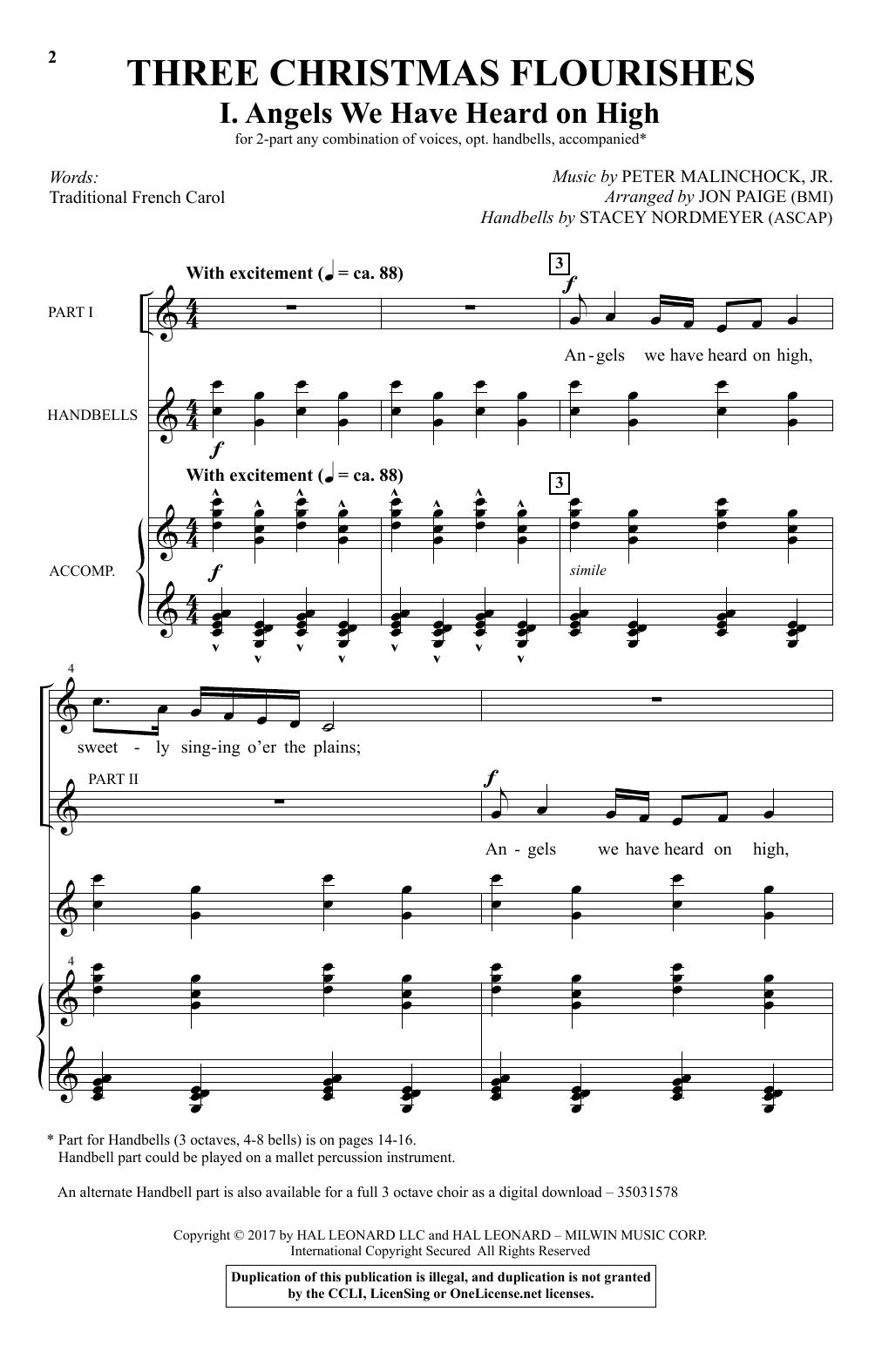 Angels We Have Heard On High (Choir)