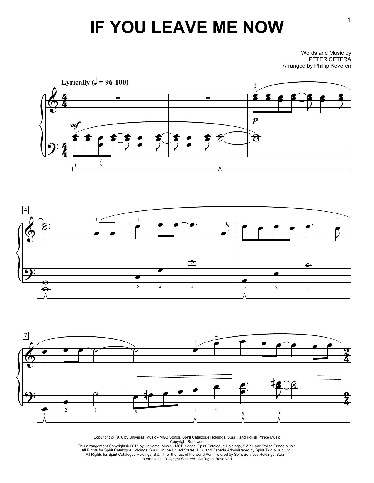 Sheet Music Digital Files To Print - Licensed Chicago