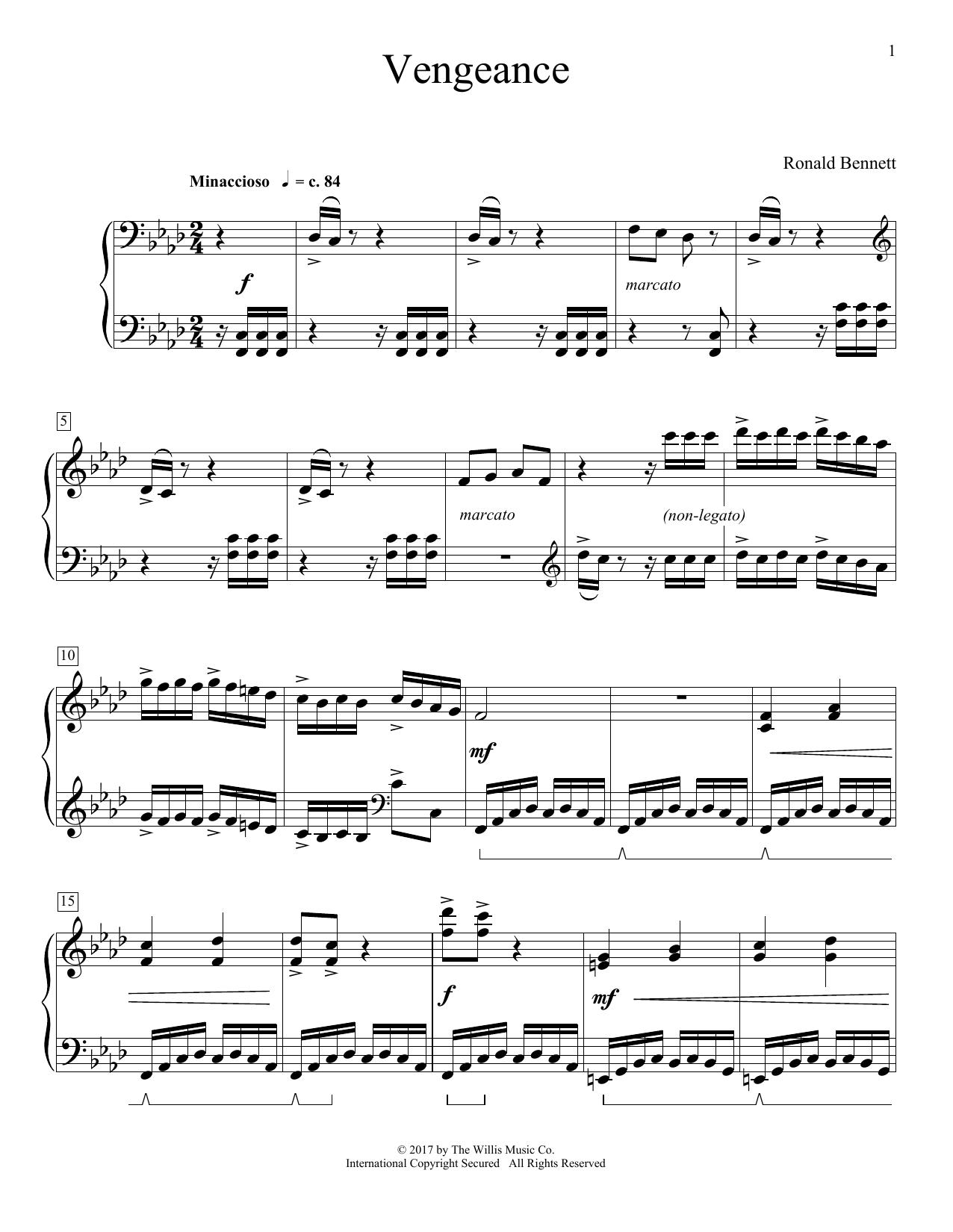 Vengeance (Educational Piano)