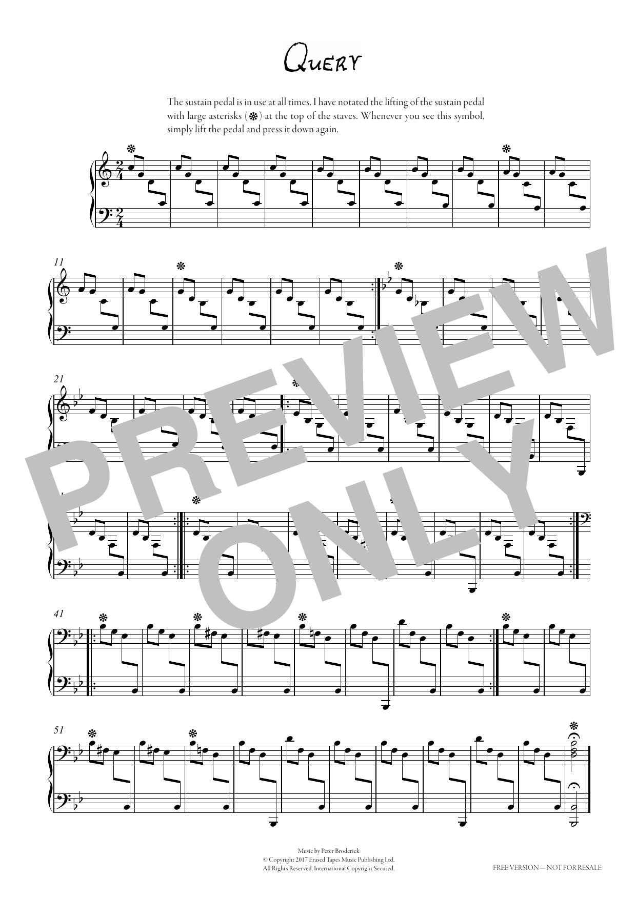 Query Sheet Music