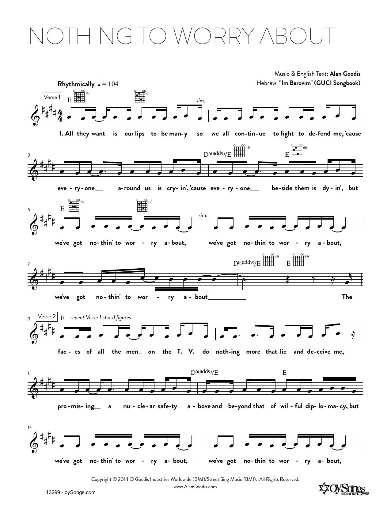 Rick Recht – Al Shlosha - על שלושה Lyrics | Genius Lyrics