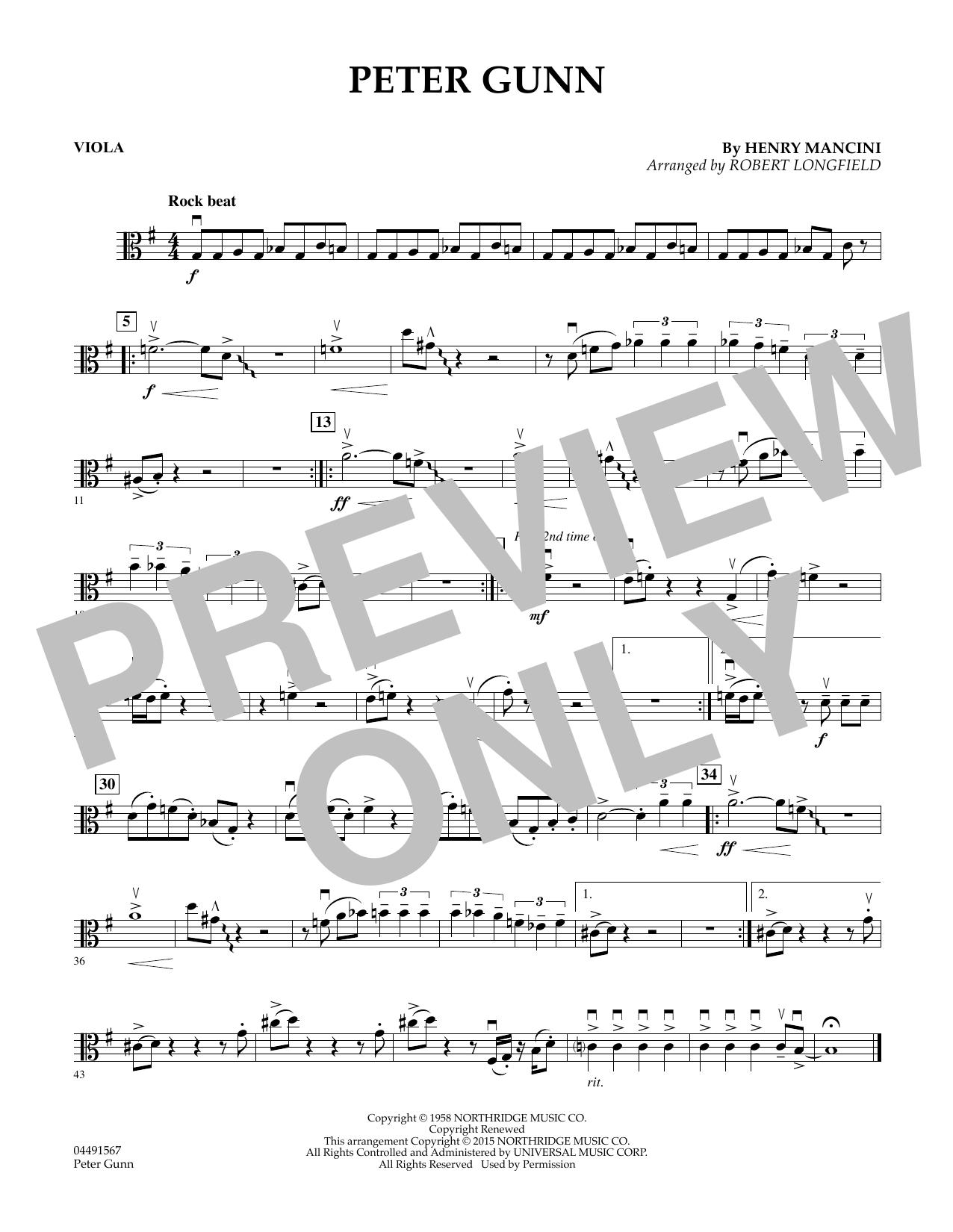 Peter Gunn - Viola (Orchestra)