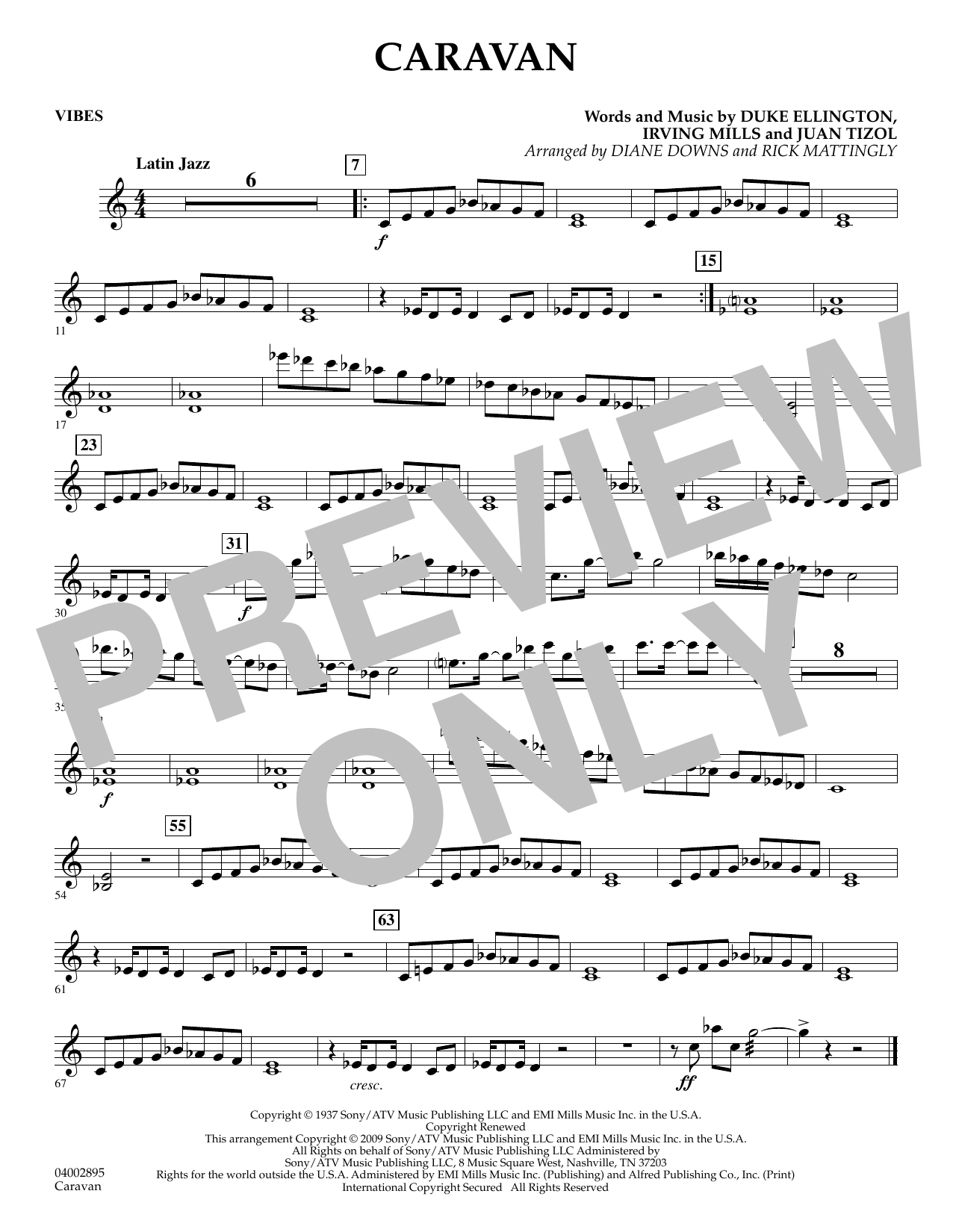 Caravan - Vibes (Concert Band)