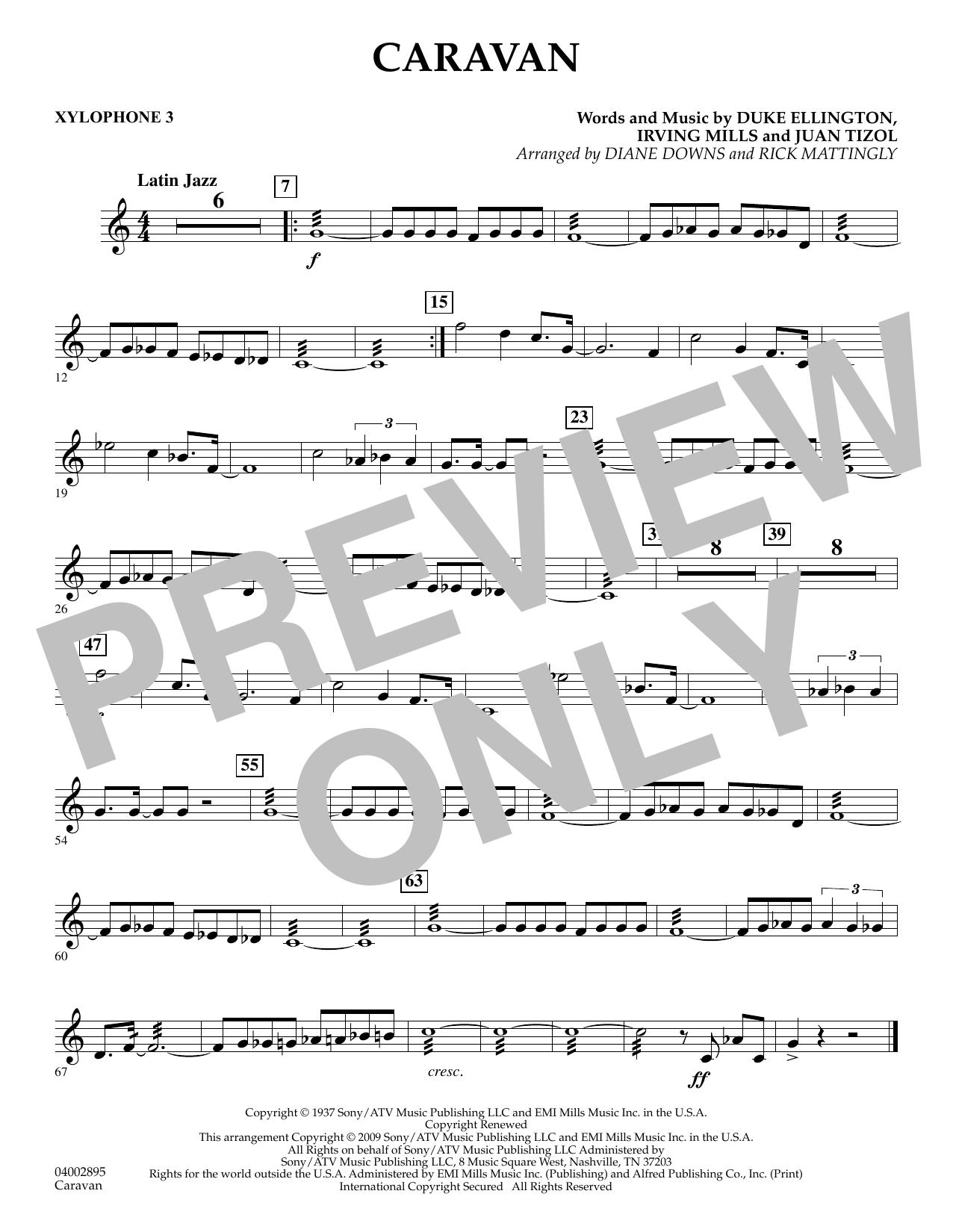 Caravan - Xylophone 3 (Concert Band)