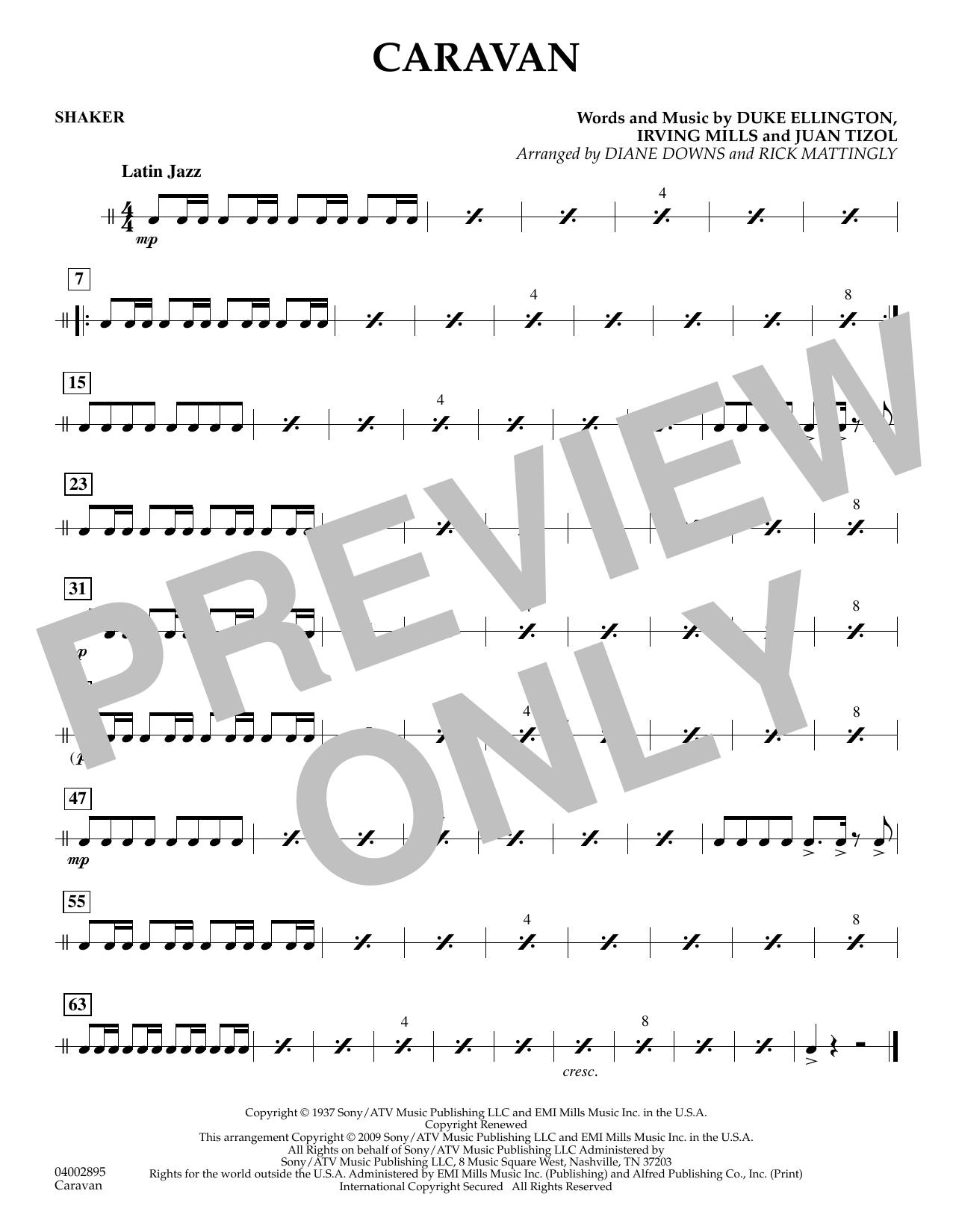 Caravan - Shaker (Concert Band)