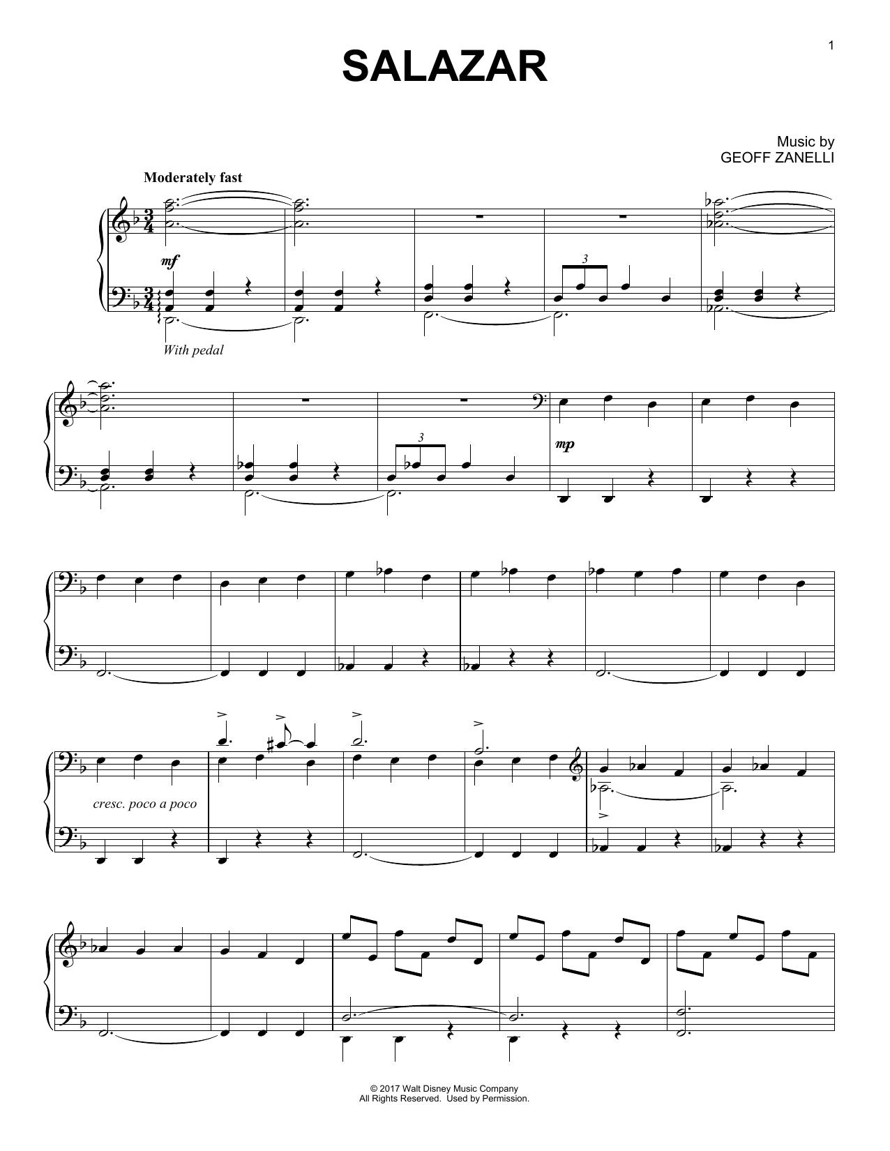 Salazar (Piano Solo)