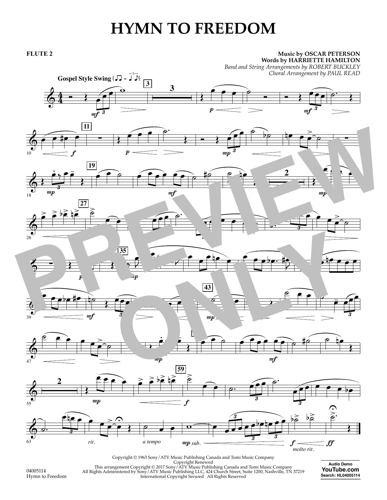 Hymn to Freedom - Flute 2 (Flex-Band)