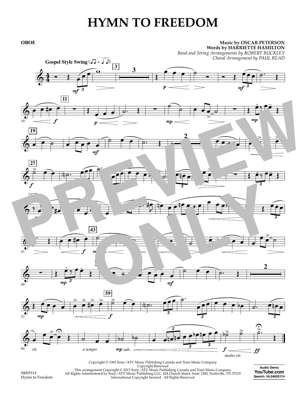 Hymn to Freedom - Oboe (Flex-Band)