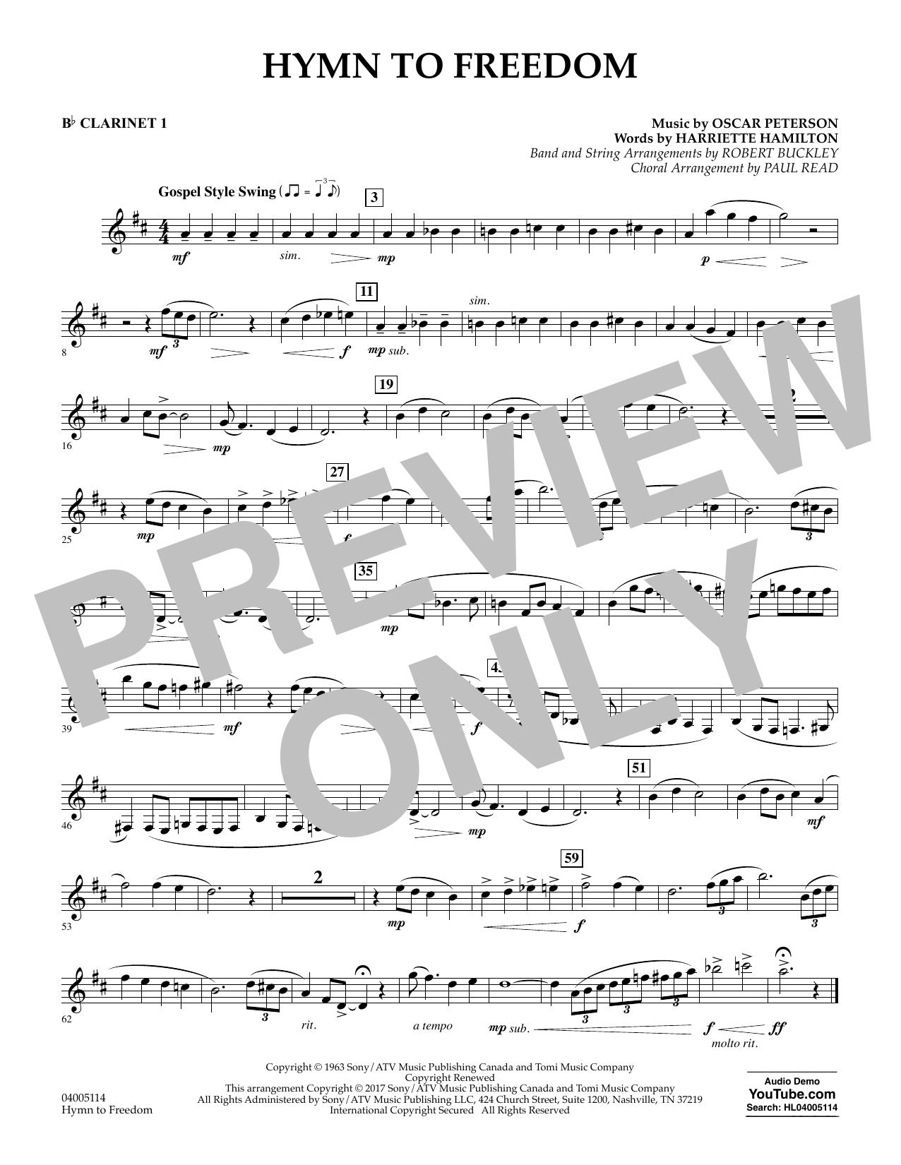 Hymn to Freedom - Bb Clarinet 1 (Flex-Band)