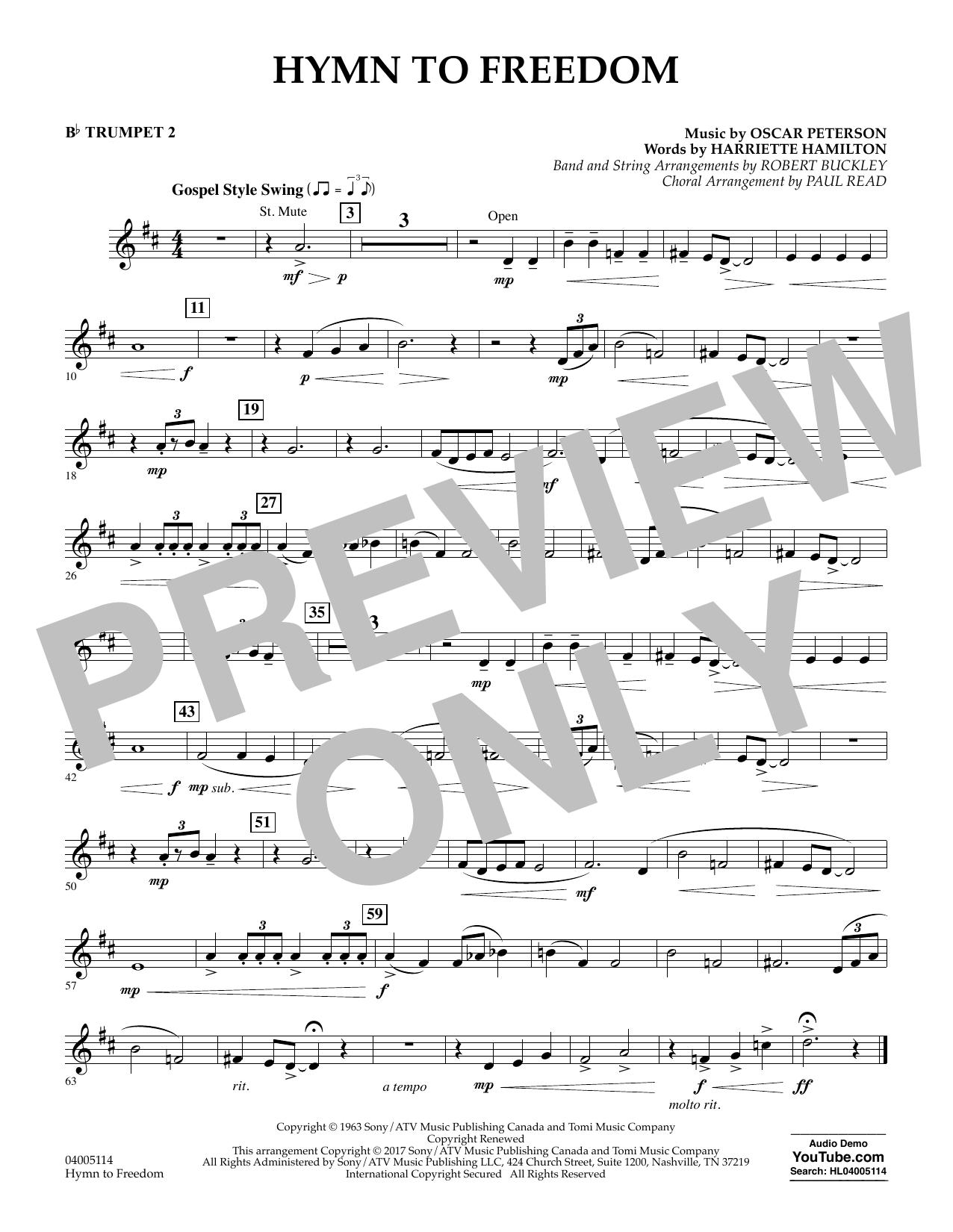 Hymn to Freedom - Bb Trumpet 2 (Flex-Band)