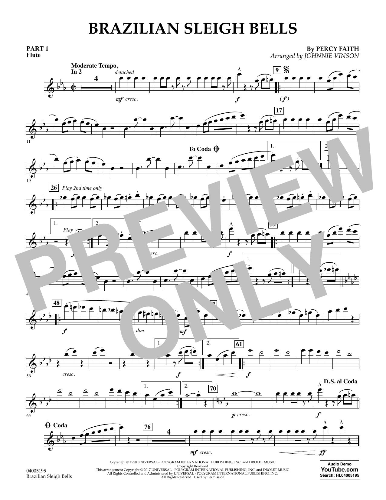 Brazilian Sleigh Bells - Pt.1 - Flute (Flex-Band)